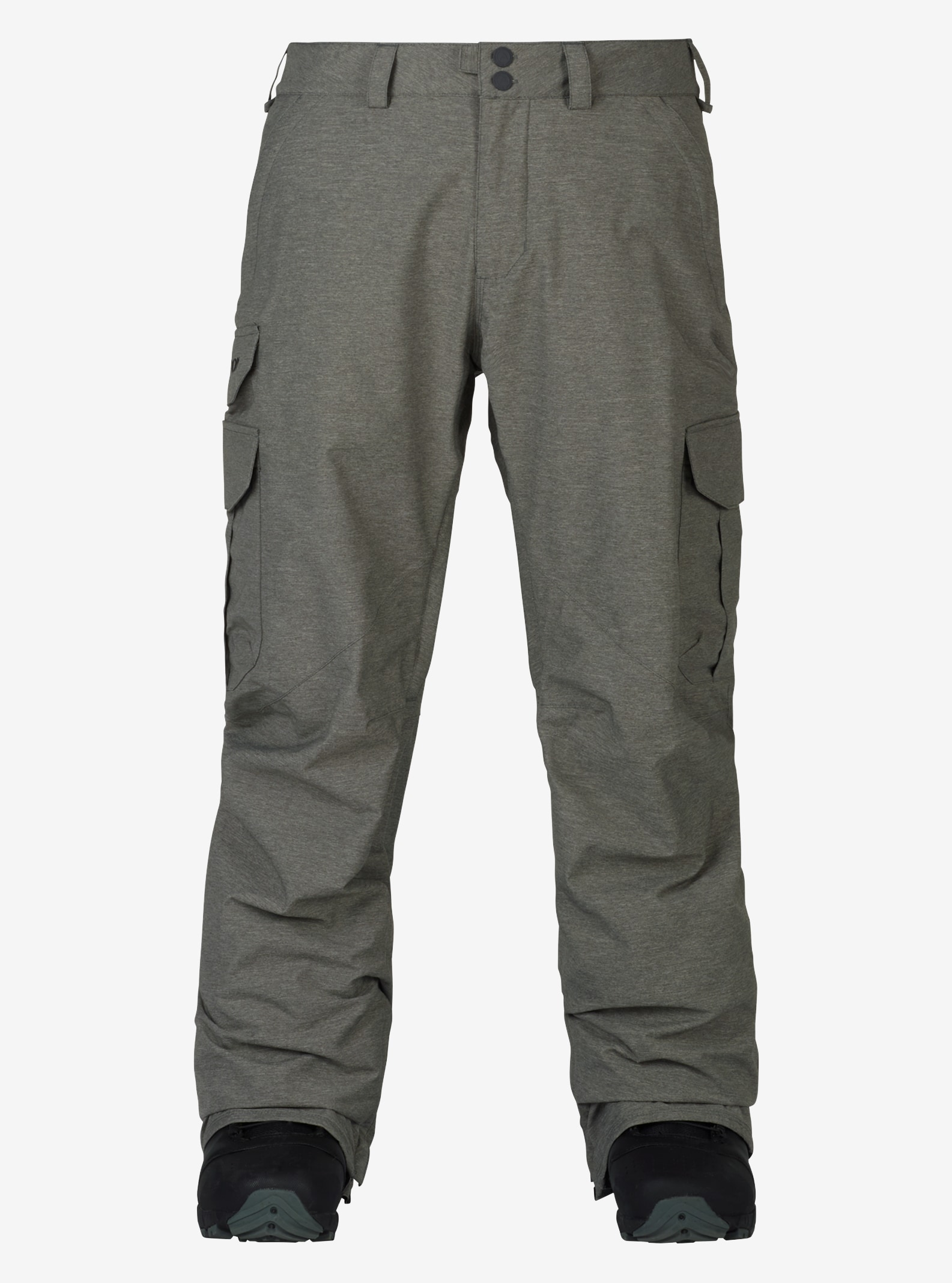 Men's Burton Cargo Pant - Relaxed Fit shown in Shade Heather