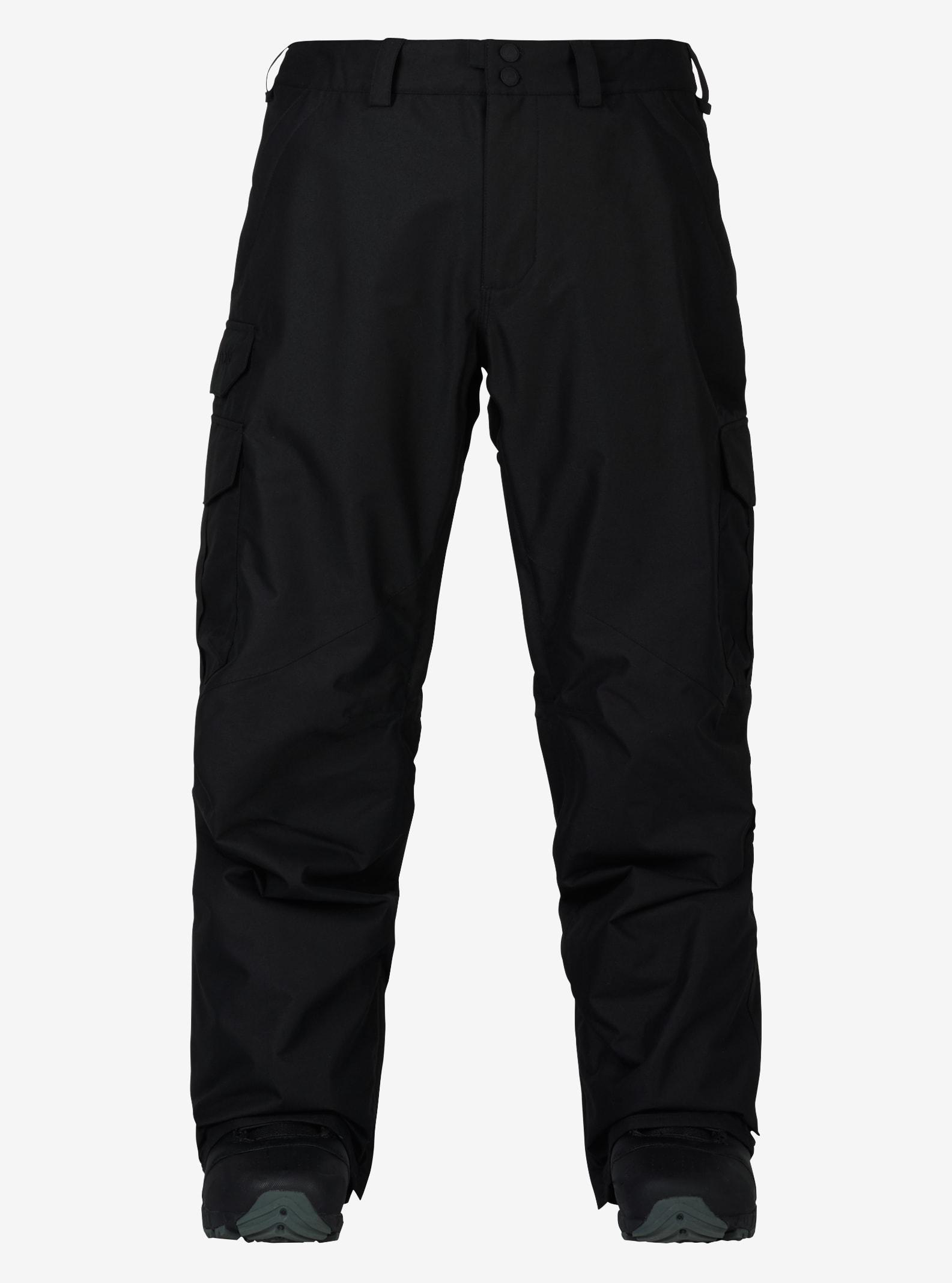Men's Burton Cargo Pant - Tall shown in True Black