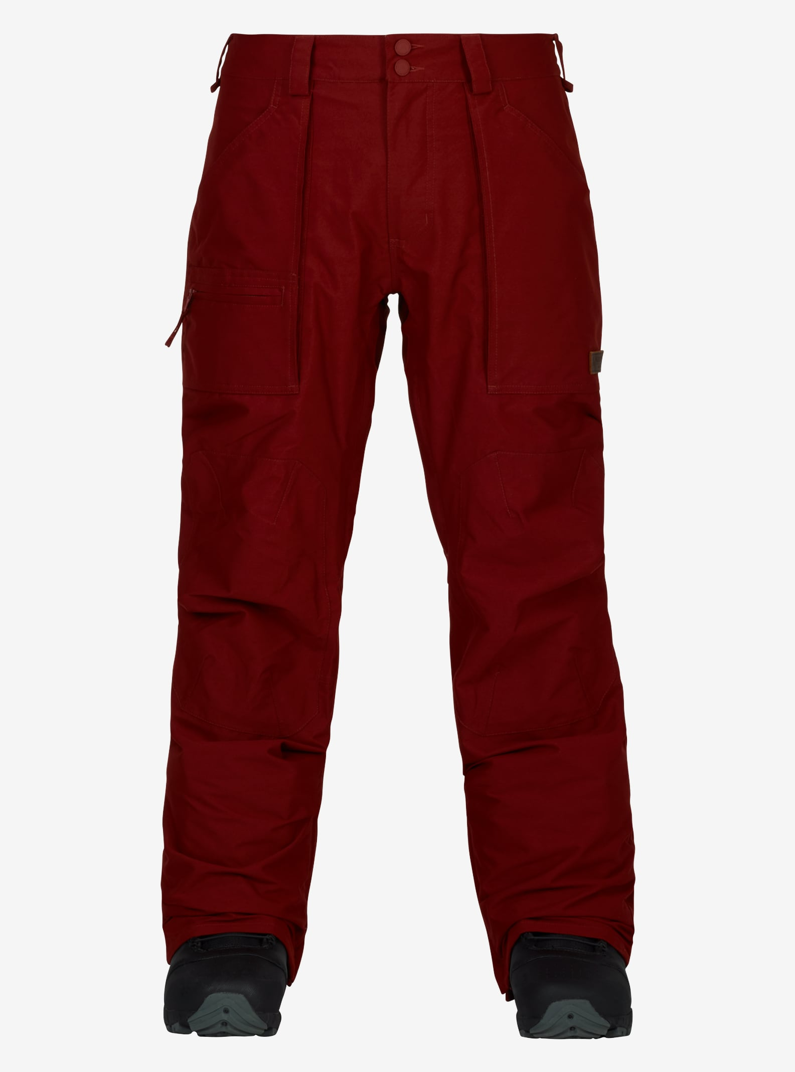 Men's Burton Southside Pant - Regular Fit shown in Fired Brick