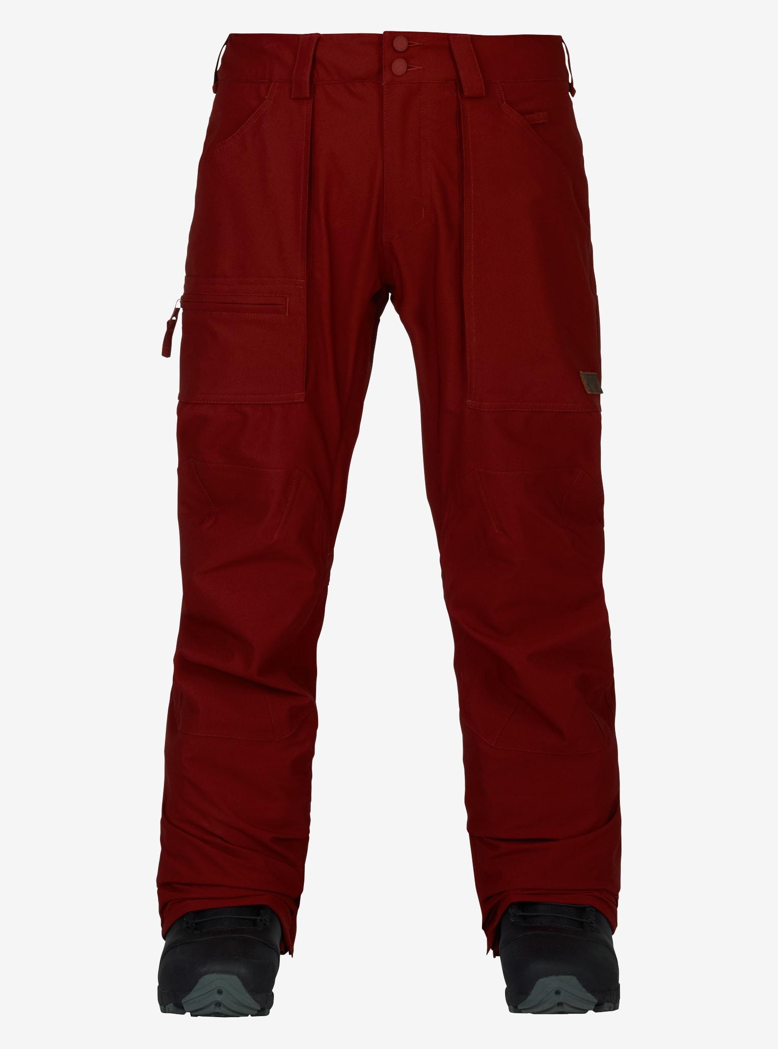 Men's Burton Southside Pant - Slim Fit shown in Fired Brick