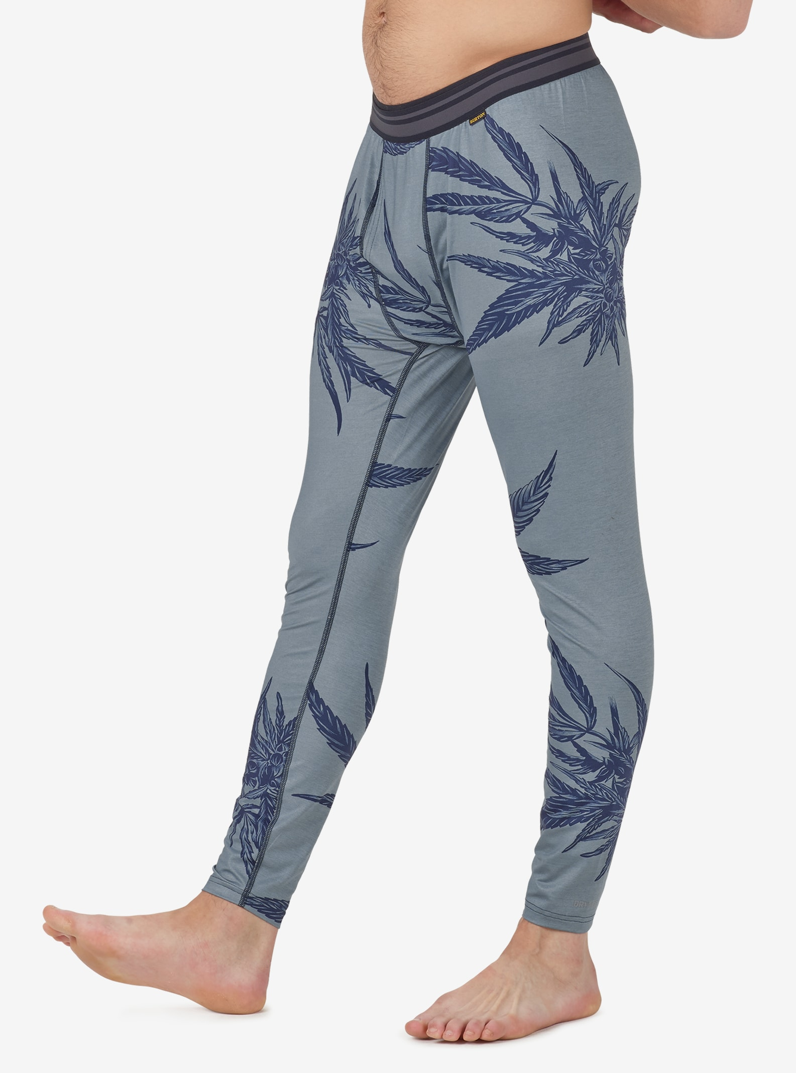 Men's Burton Lightweight Base Layer Pant shown in Winter Tropical Trip