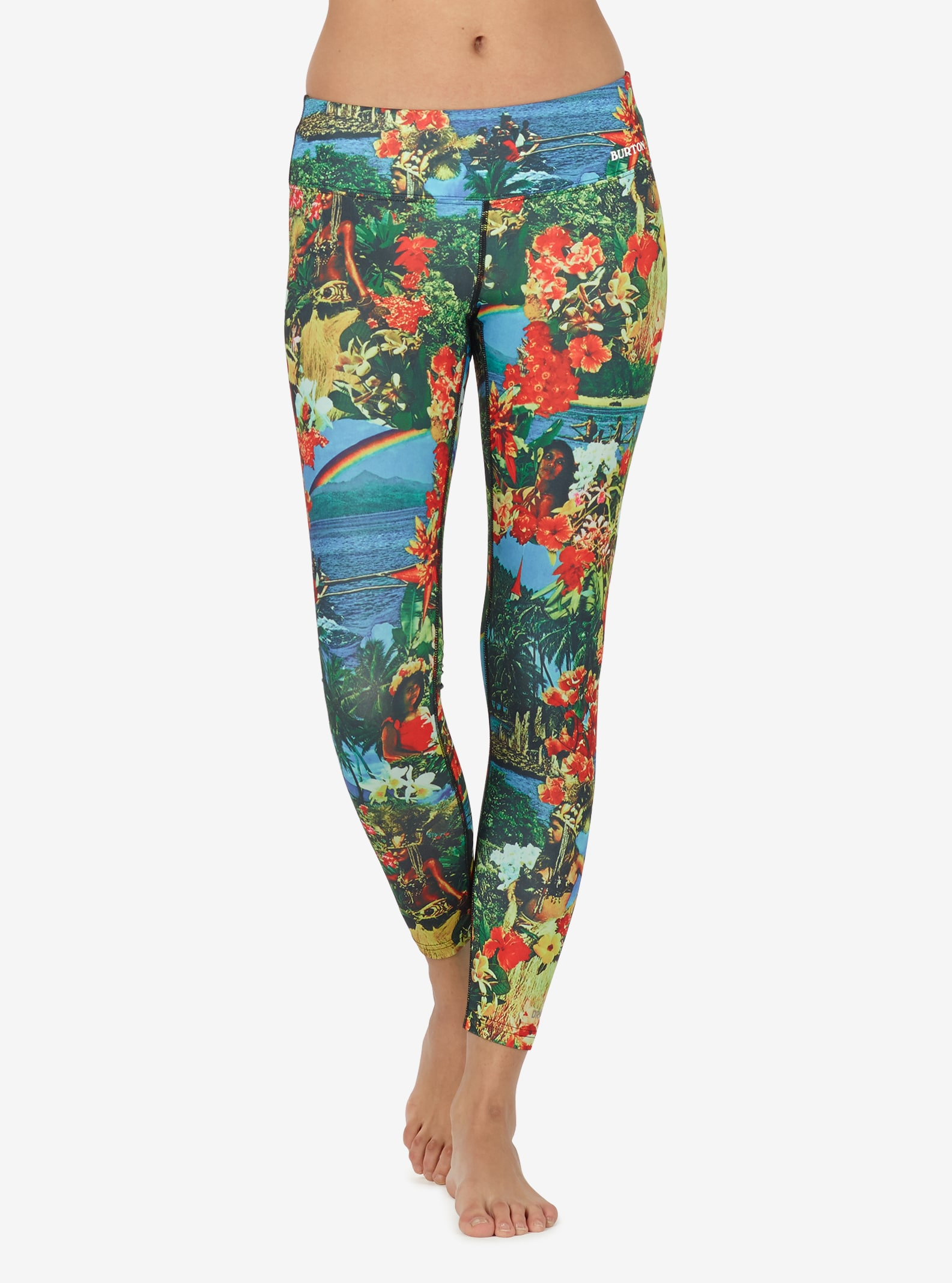 Women's Burton Lightweight Base Layer Pant shown in Maui Wowie