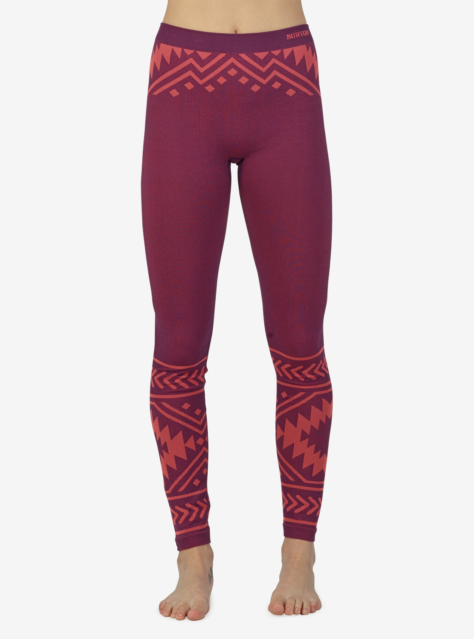 Women's Burton Active Seamless Tight shown in Geo
