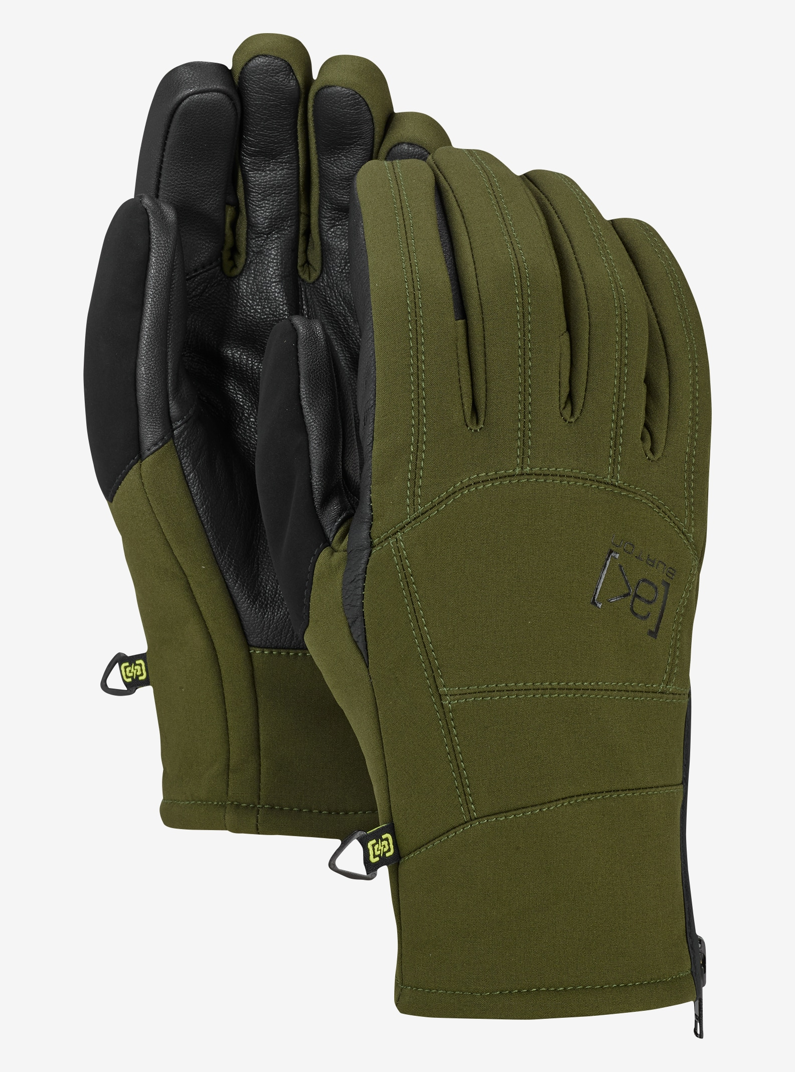 Burton [ak] Tech Glove shown in Forest Night