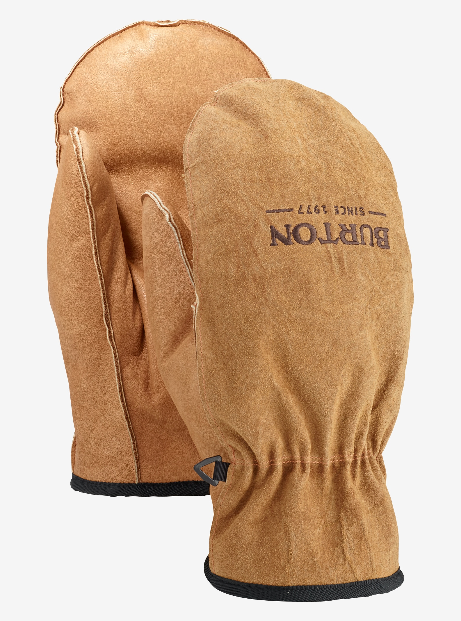Men's Burton Work Horse Leather Mitt shown in Raw Hide