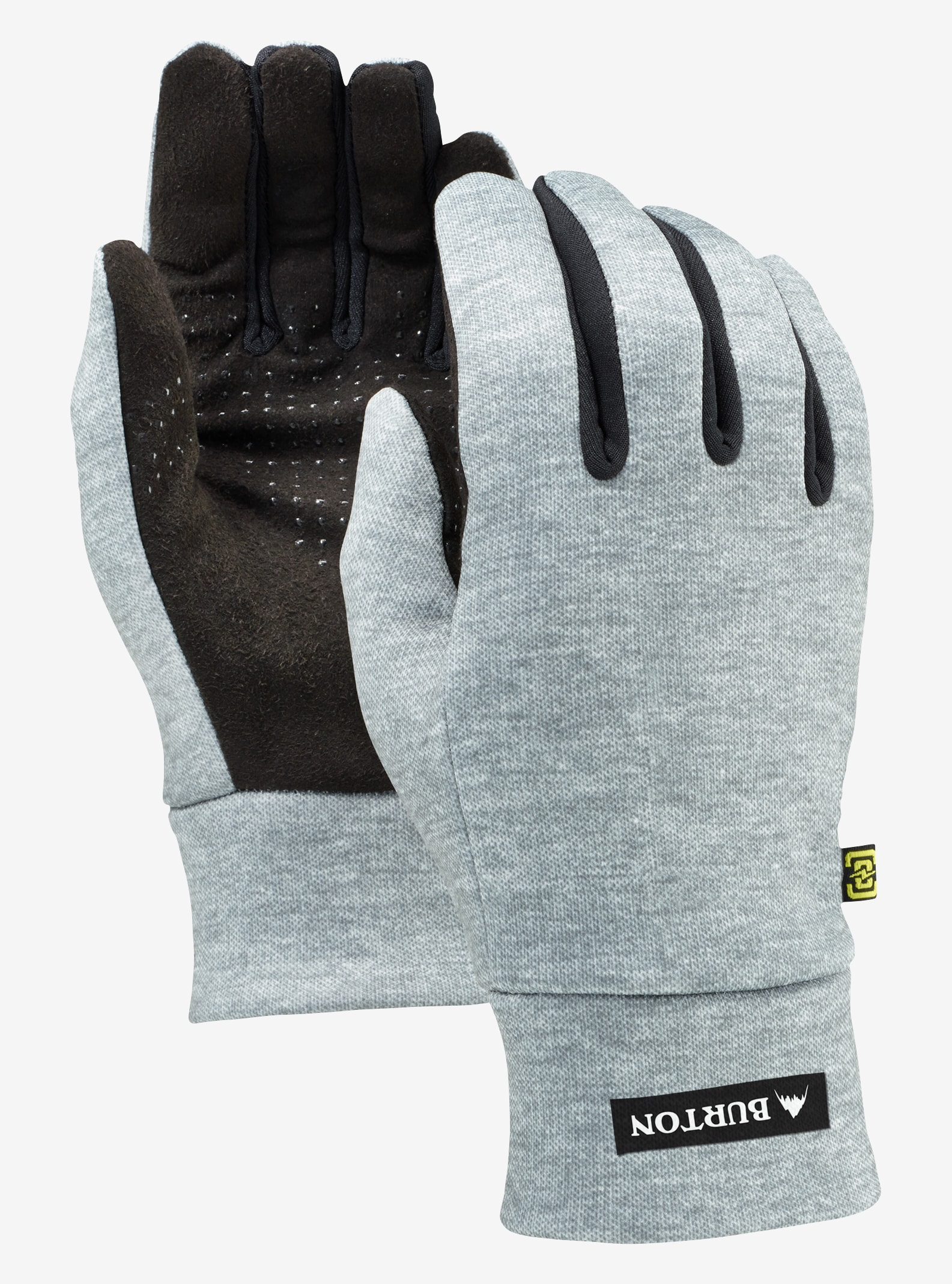 Men's Burton Touch N Go Glove shown in Heathered Gray