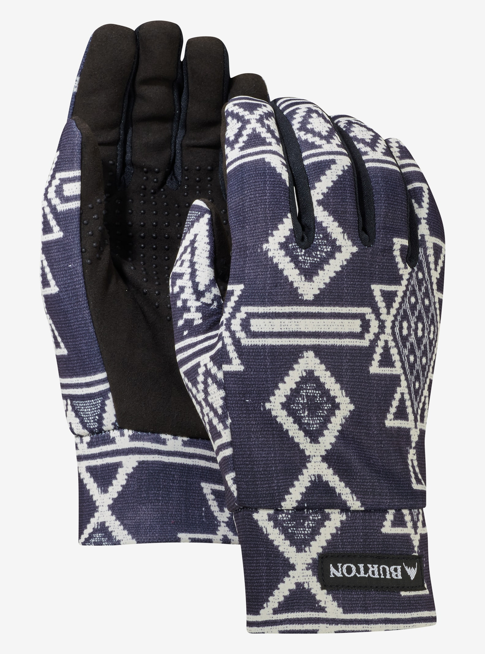 Women's Burton Touch N Go Glove shown in True Black Mojave