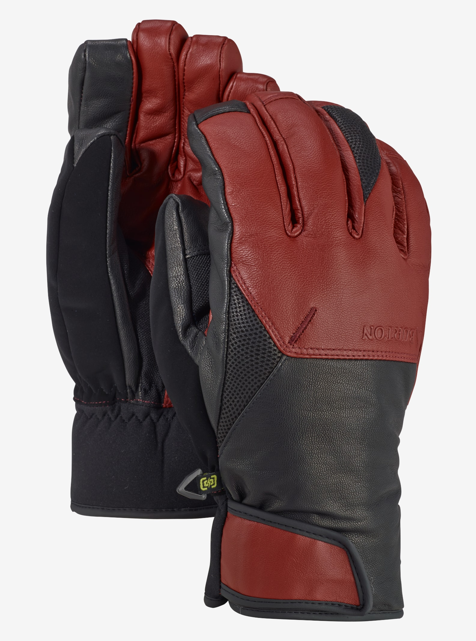 Men's Burton Gondy GORE-TEX® Leather Glove shown in Fired Brick