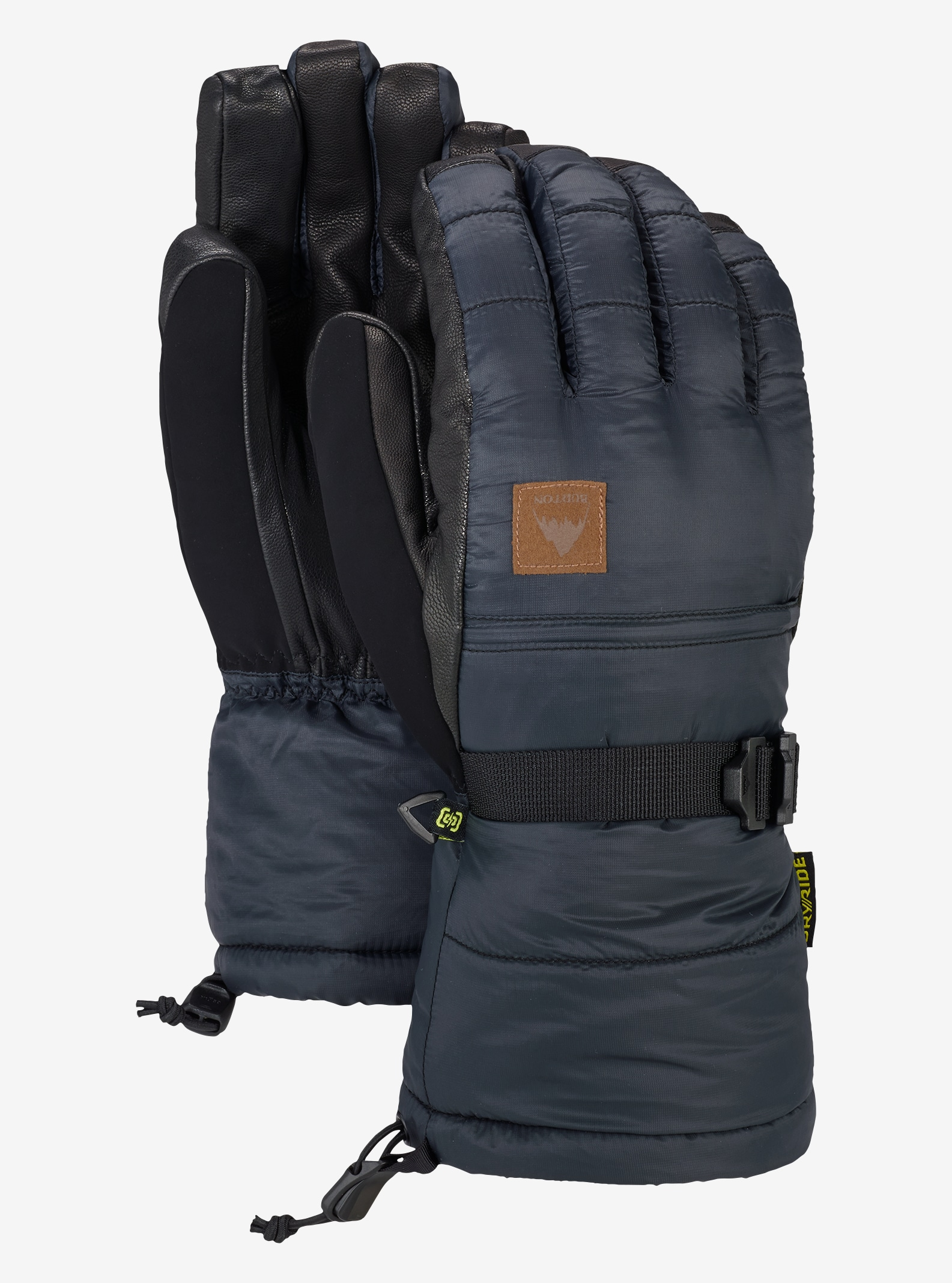 Men's Burton Warmest Glove shown in True Black
