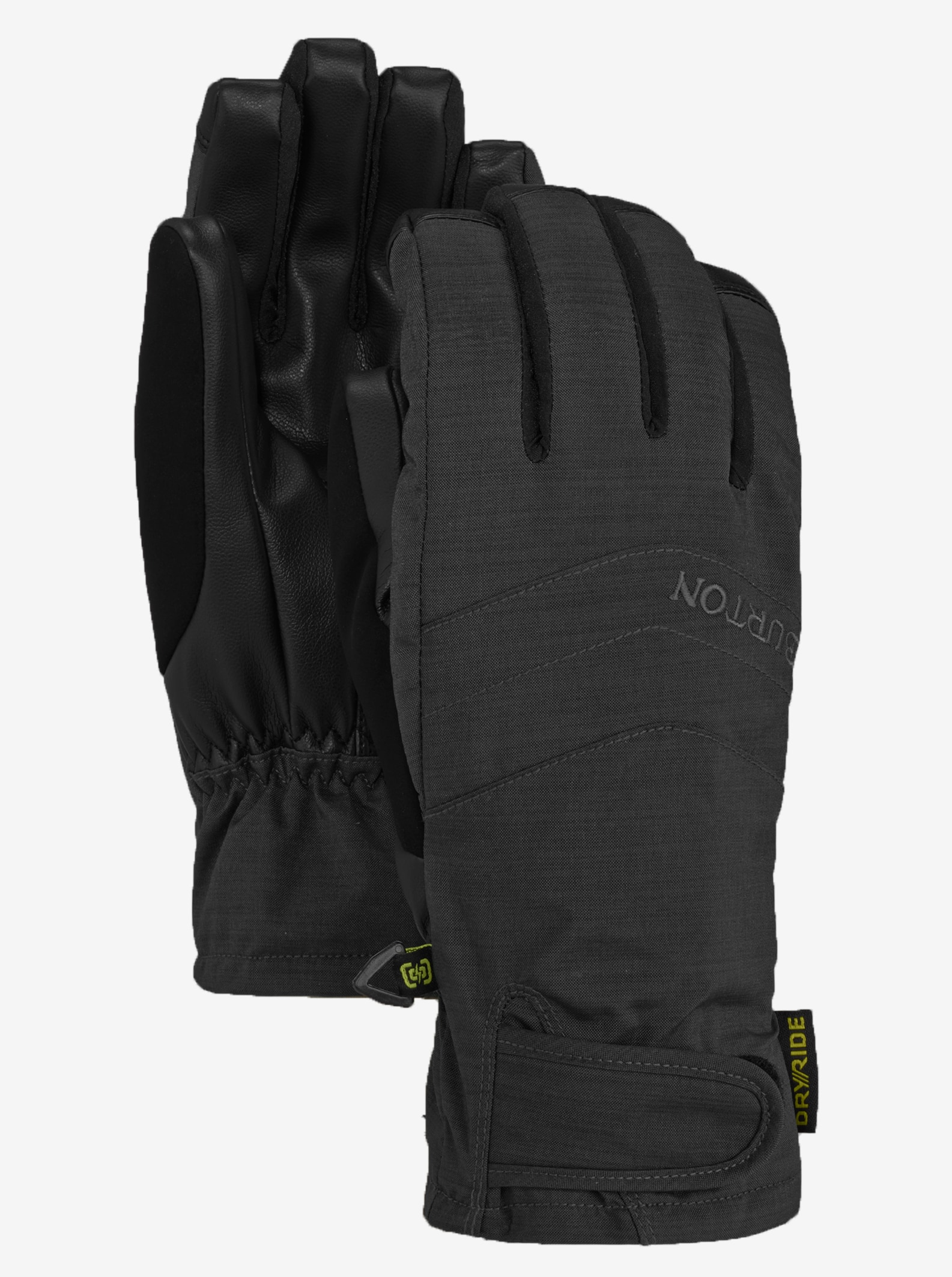 Women's Burton Prospect Under Glove shown in True Black