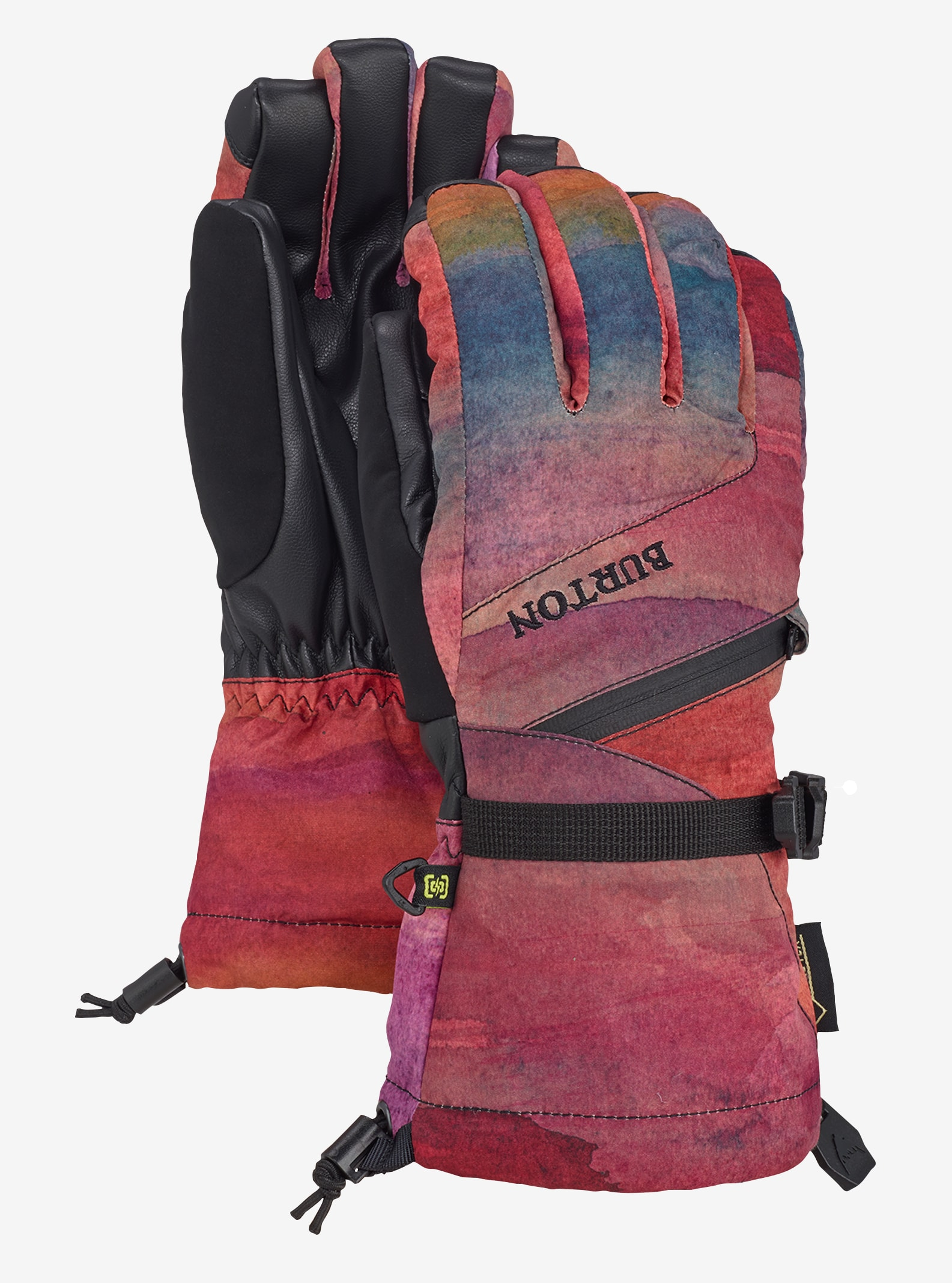 Women's Burton GORE-TEX® Glove + Gore warm technology shown in Sedona
