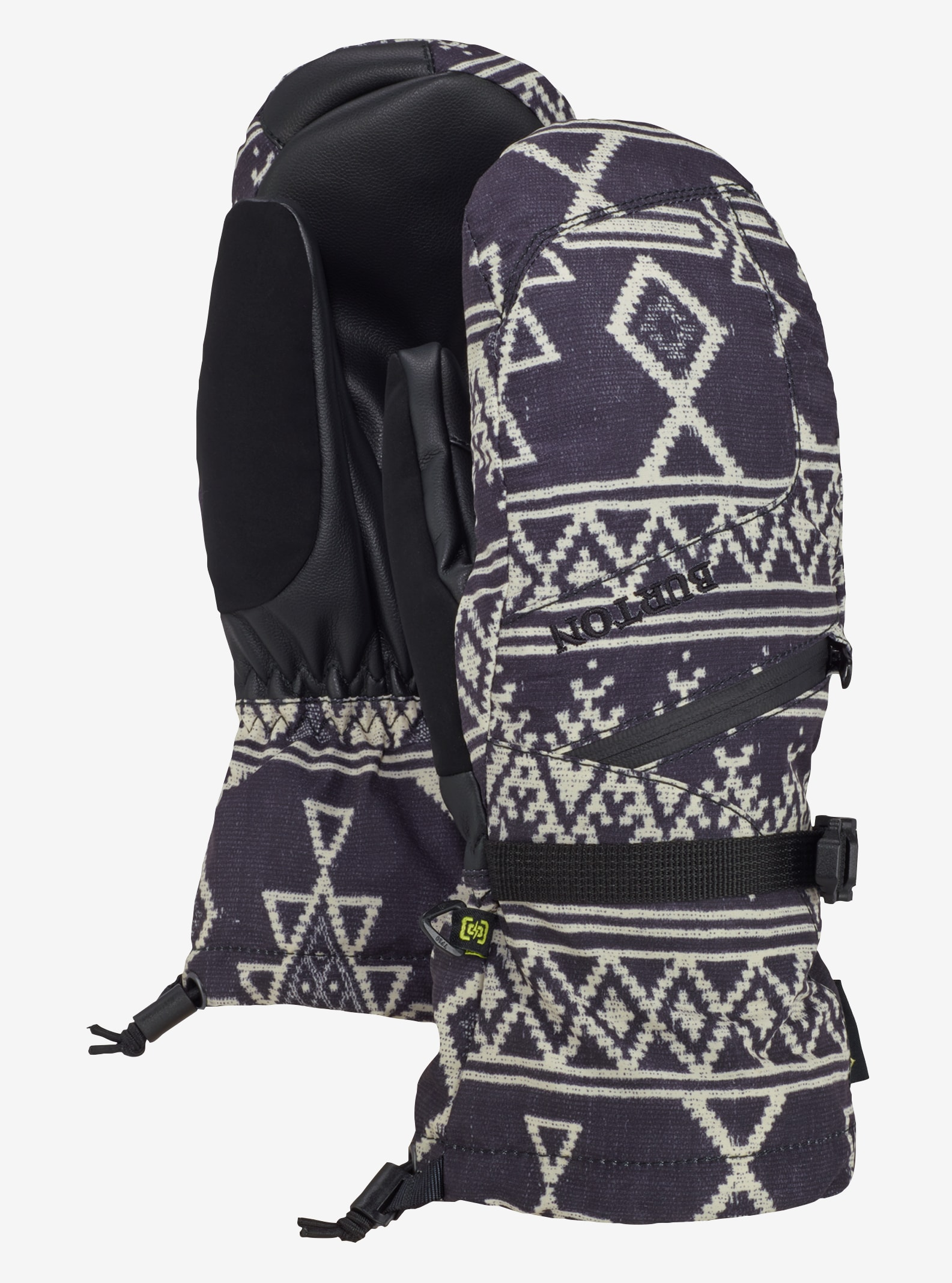 Women's Burton GORE-TEX® Mitt + Gore warm technology shown in True Black Mojave