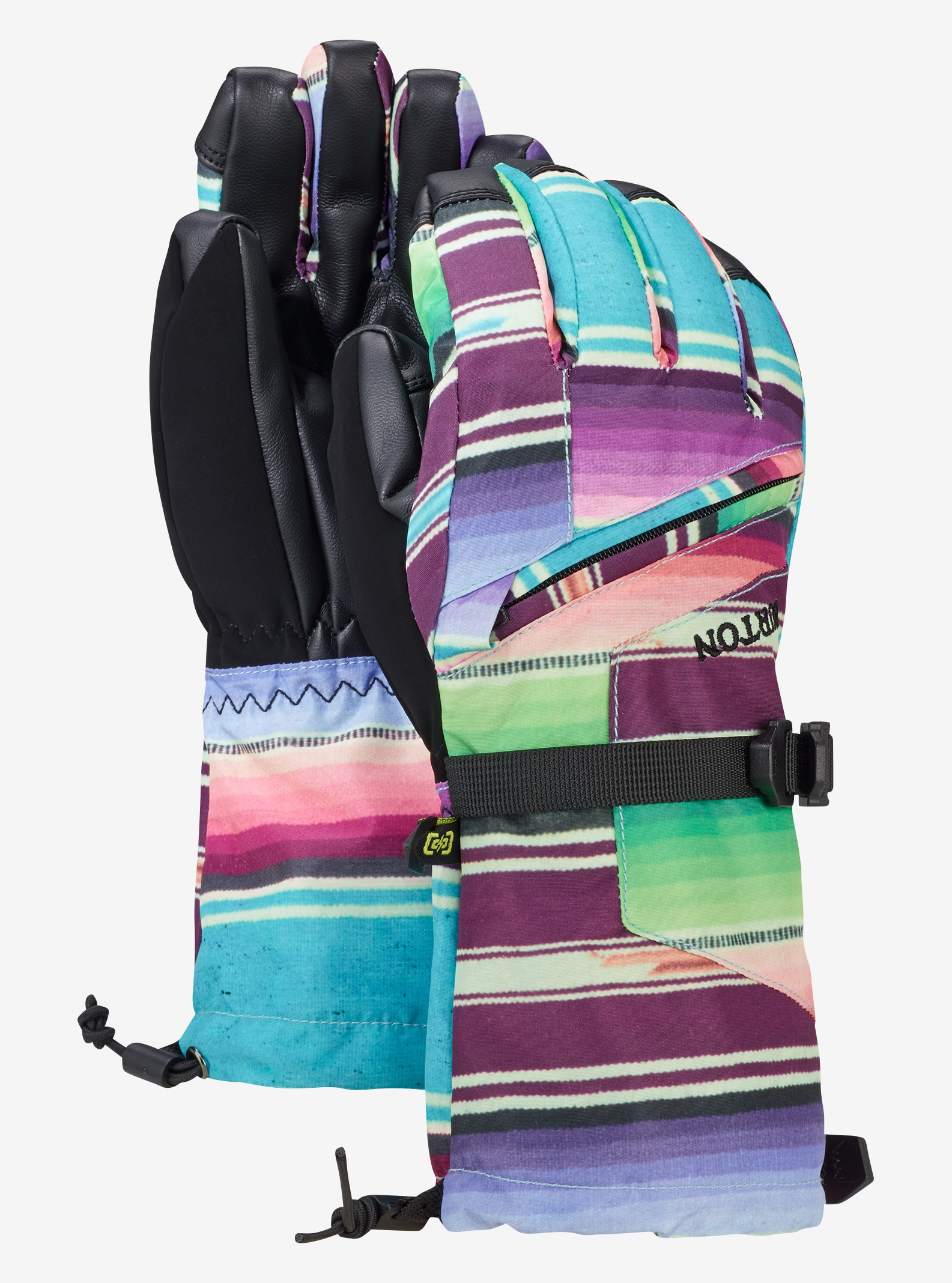 Kids' Burton Vent Glove shown in Mijita Stripe