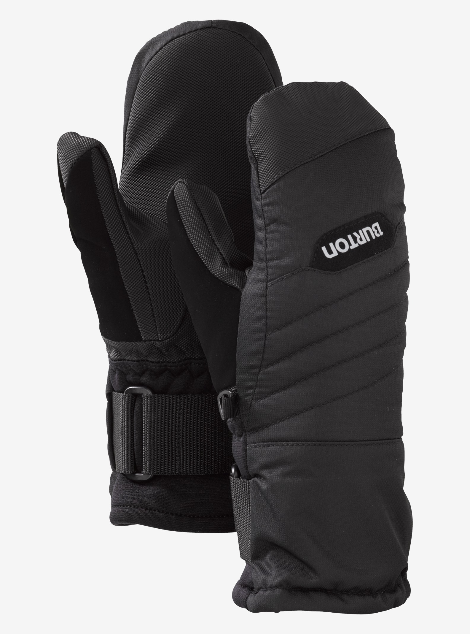 Kids' Burton Support Mitt shown in True Black