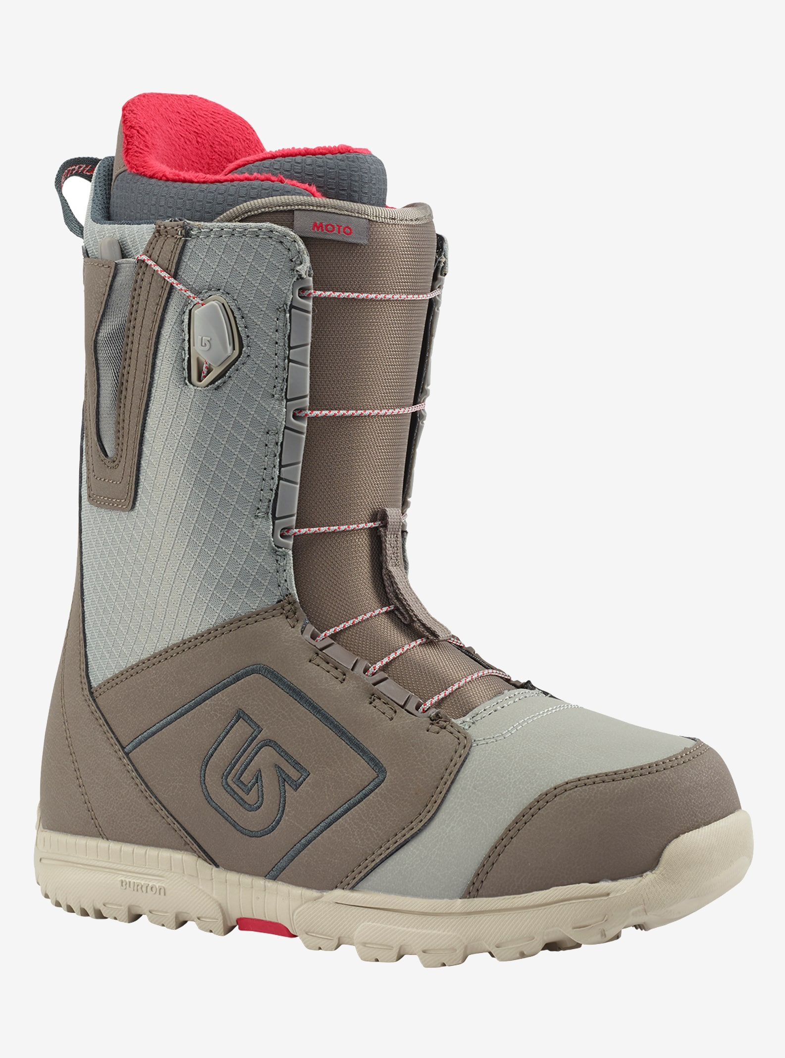 Men's Burton Moto Snowboard Boot shown in Gray
