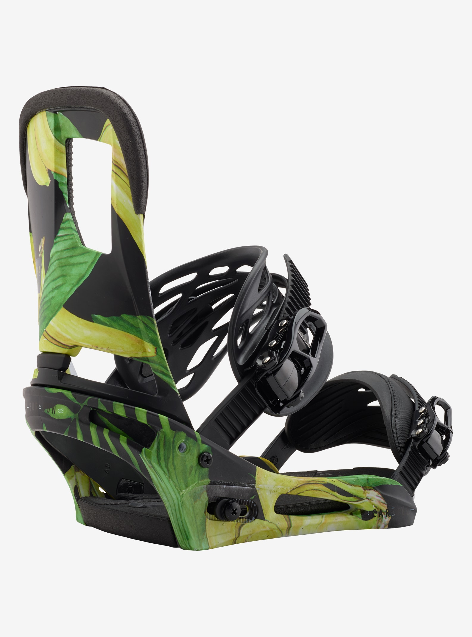 Men's Burton Cartel Snowboard Binding shown in Tommy Bananas