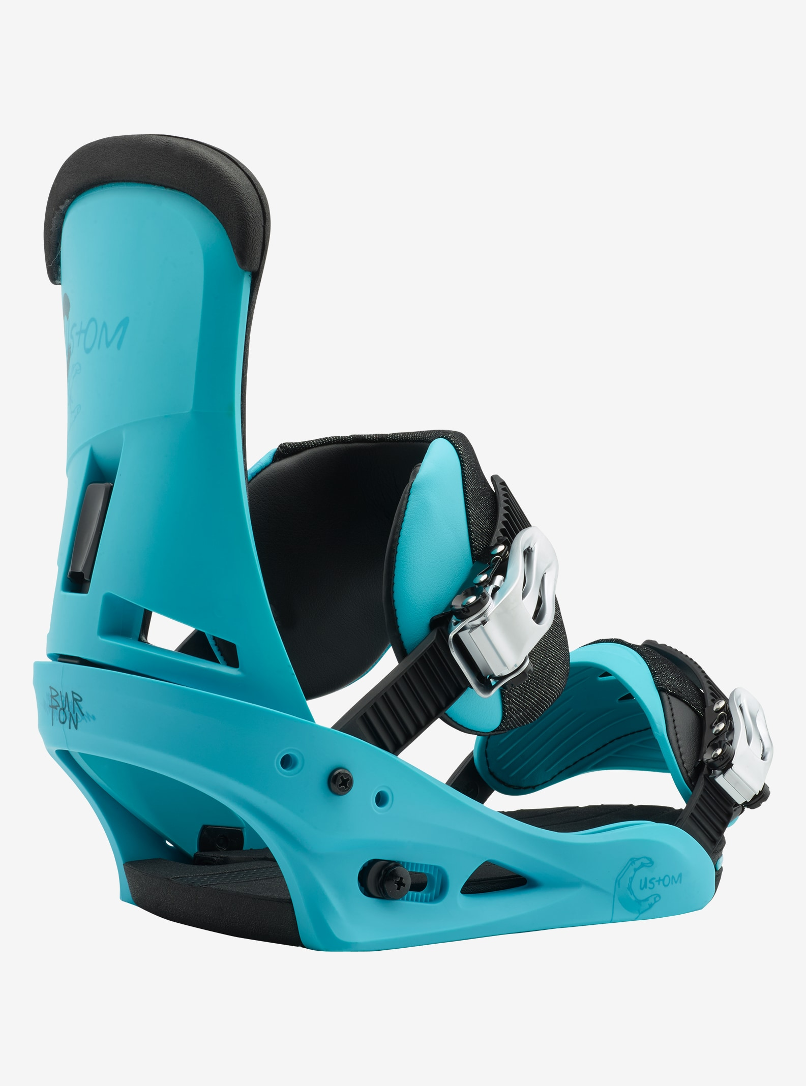 Men's Burton Custom Snowboard Binding shown in CS Blue