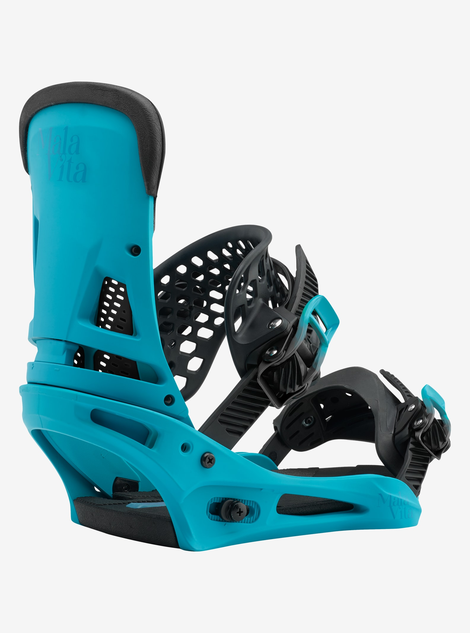 Men's Burton Malavita Snowboard Binding shown in Tealest