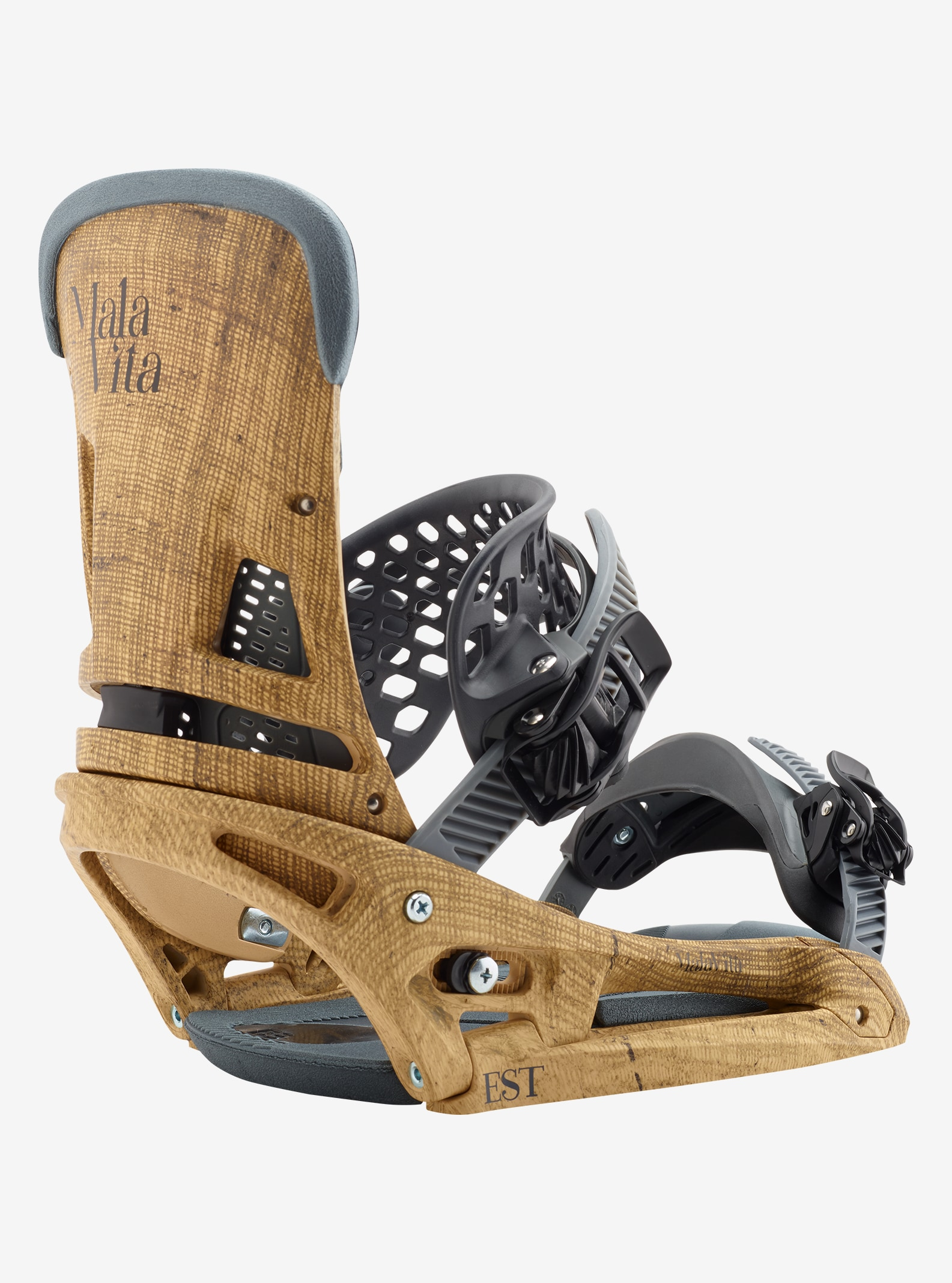 Men's Burton Malavita EST Snowboard Binding shown in Hemp