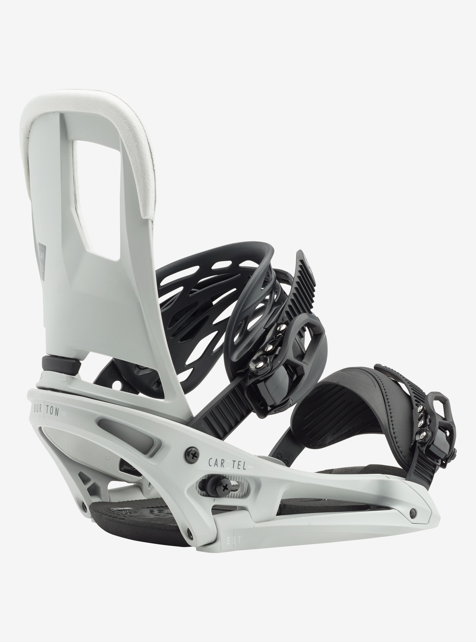 Men's Burton Cartel EST Snowboard Binding shown in Primed