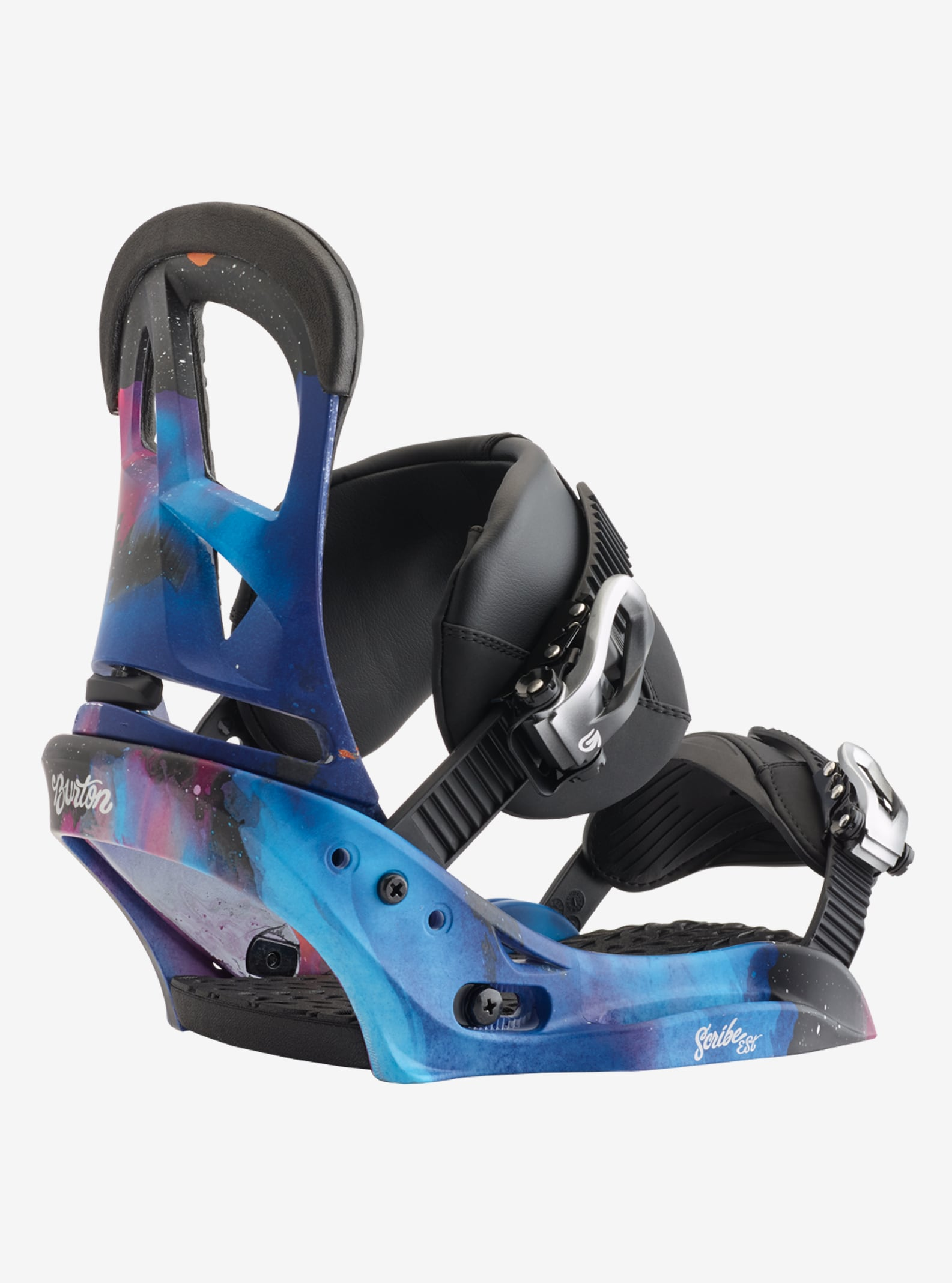 Women's Burton Scribe EST Snowboard Binding shown in Northern Lights