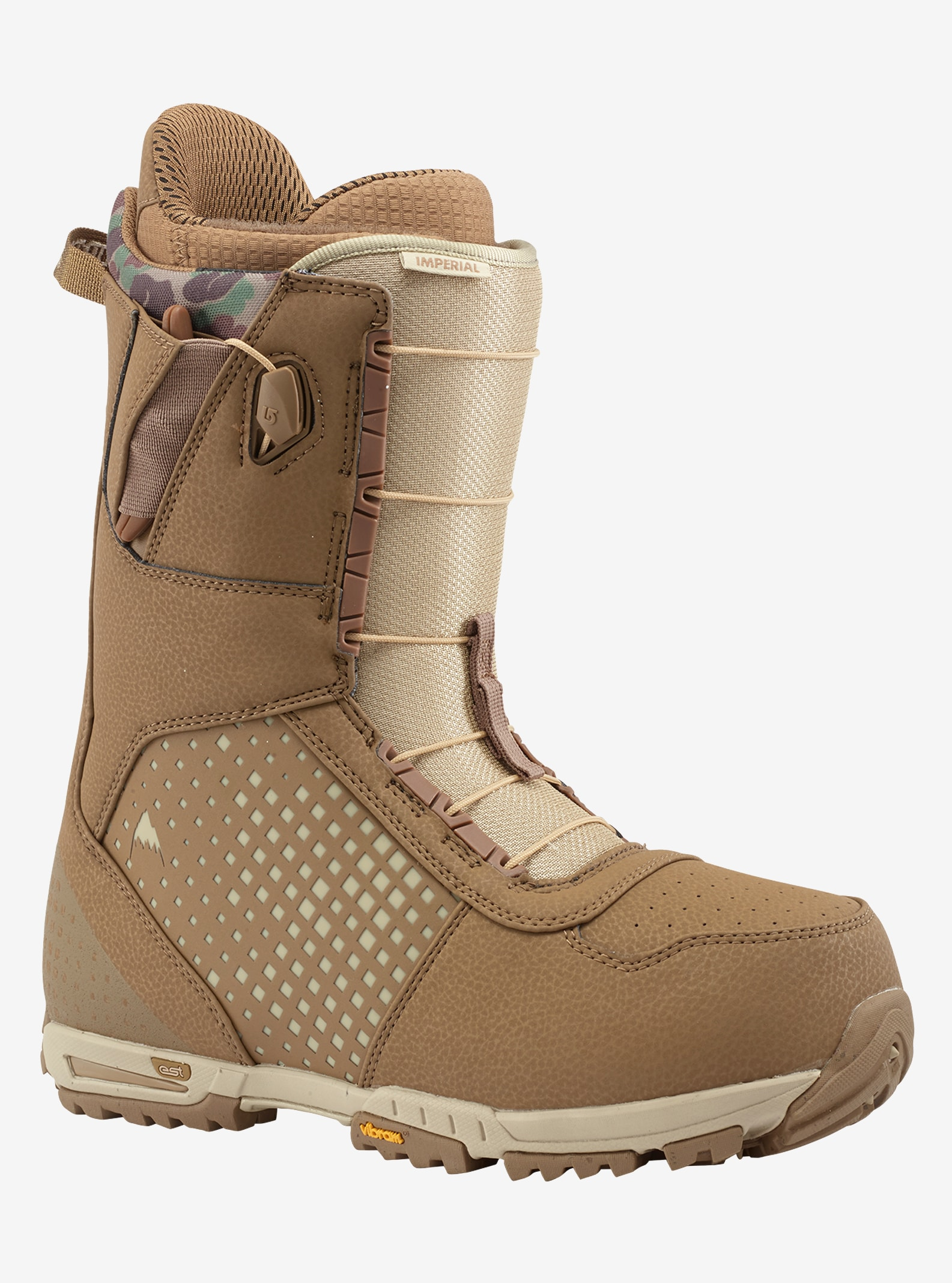 Men's Burton Imperial Snowboard Boot shown in Desert