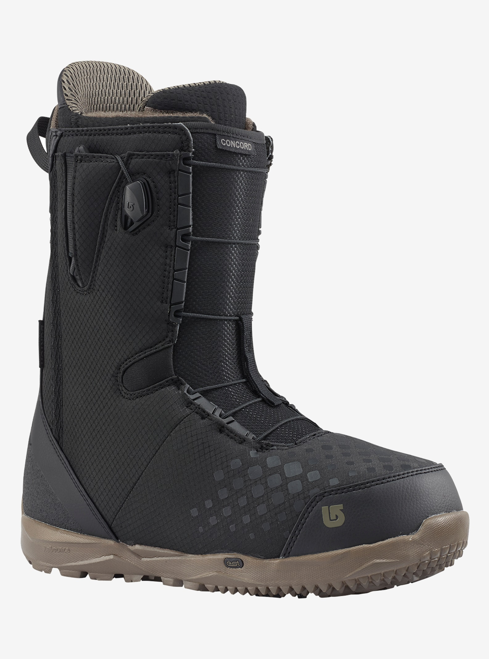 Men's Burton Concord Snowboard Boot shown in Black