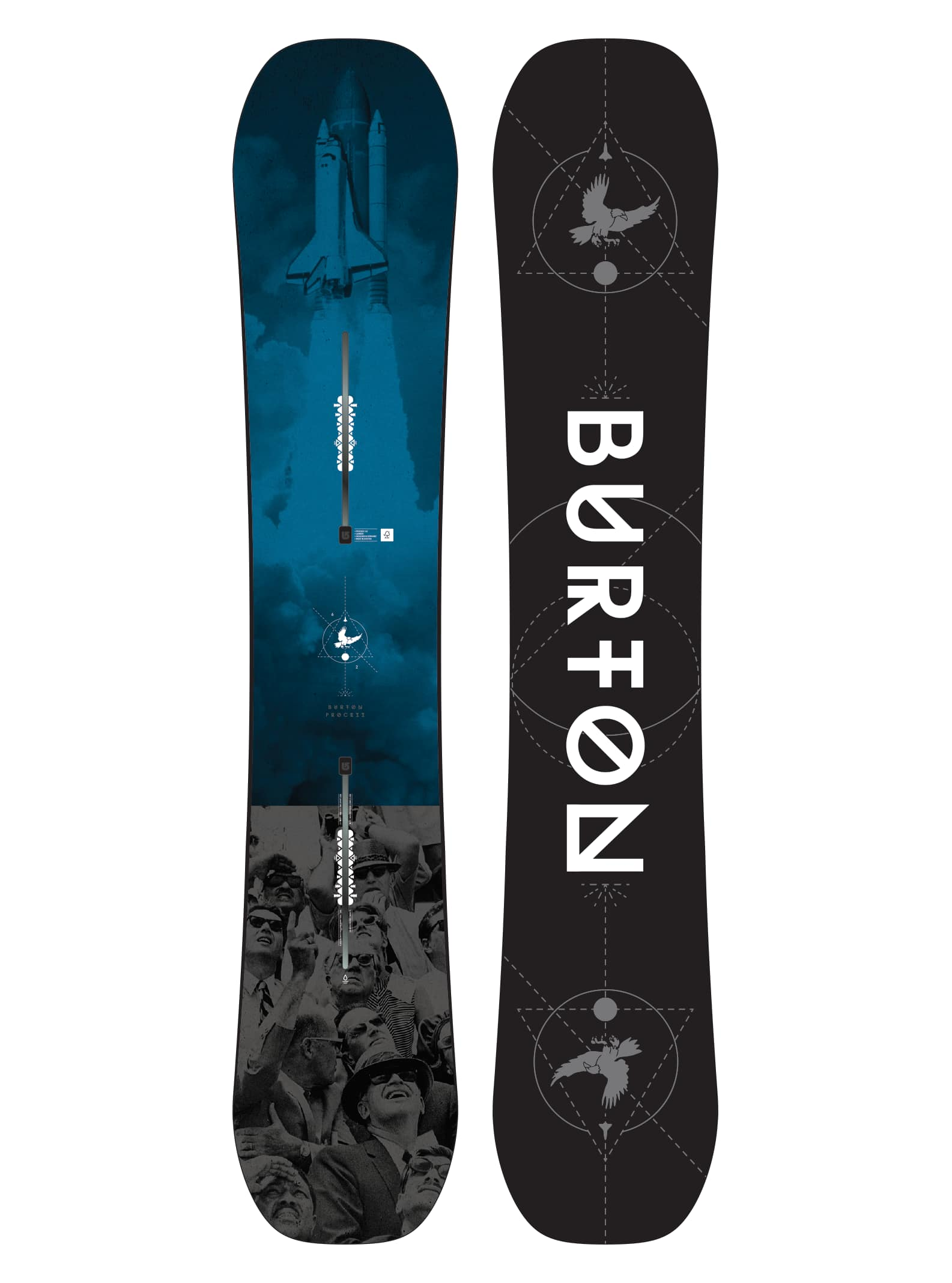 Mens Burton Process Snowboard