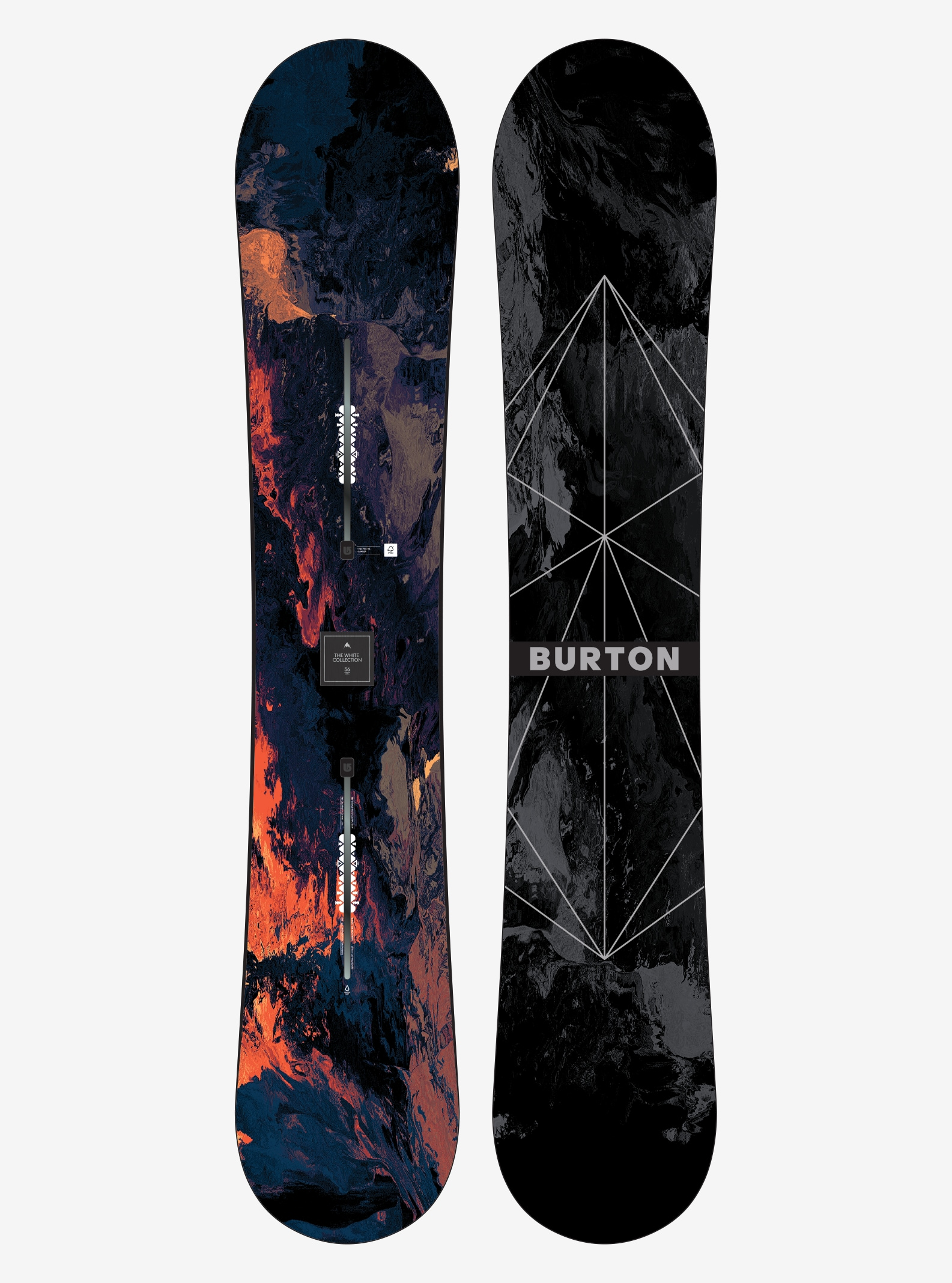Men's Burton TWC Pro Snowboard shown in 156