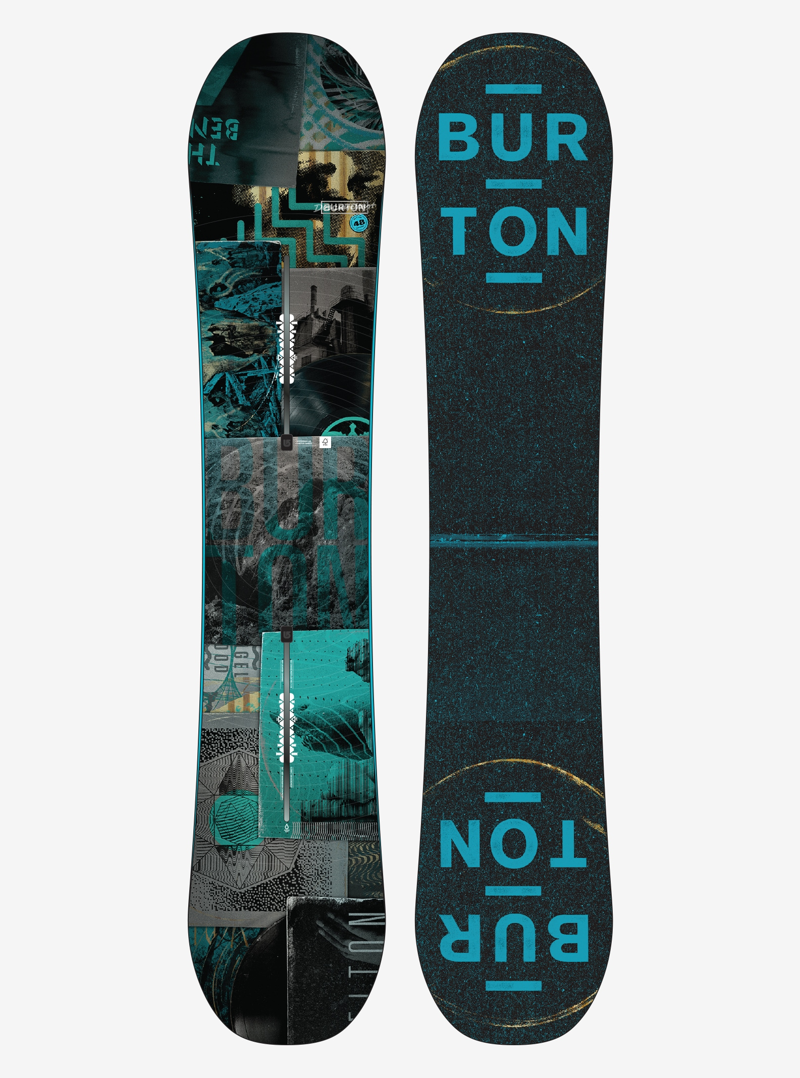 Men's Burton Descendant Snowboard shown in 148