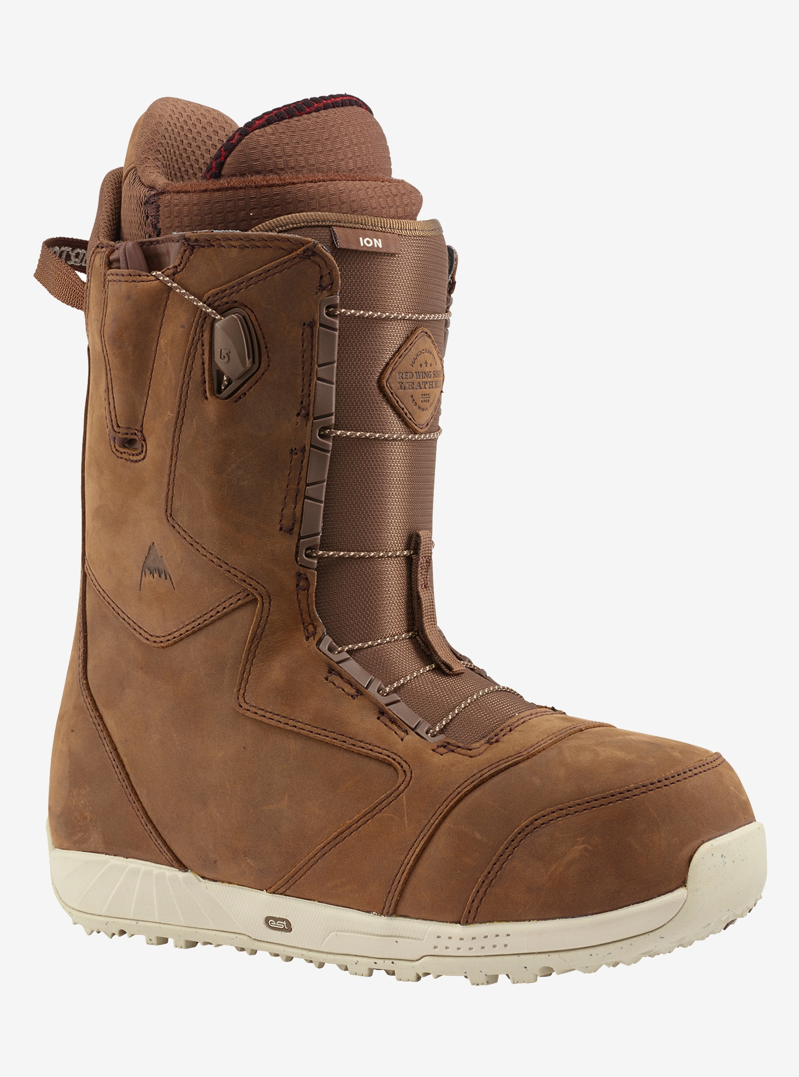 Men's Red Wing® Leather x Burton Ion Leather Snowboard Boot shown in Red Wing