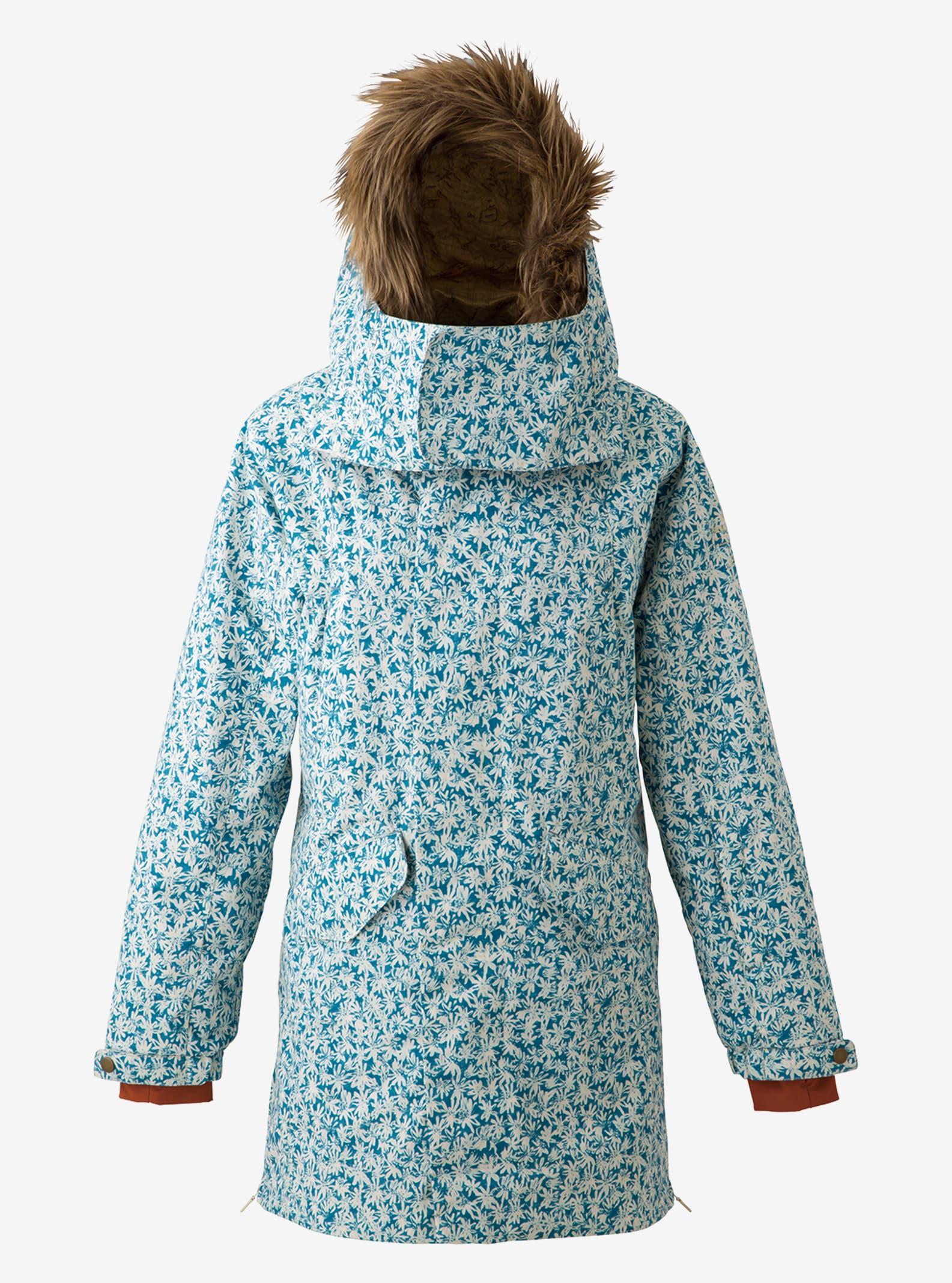 Women's Burton Zenana Jacket shown in Petal Denim