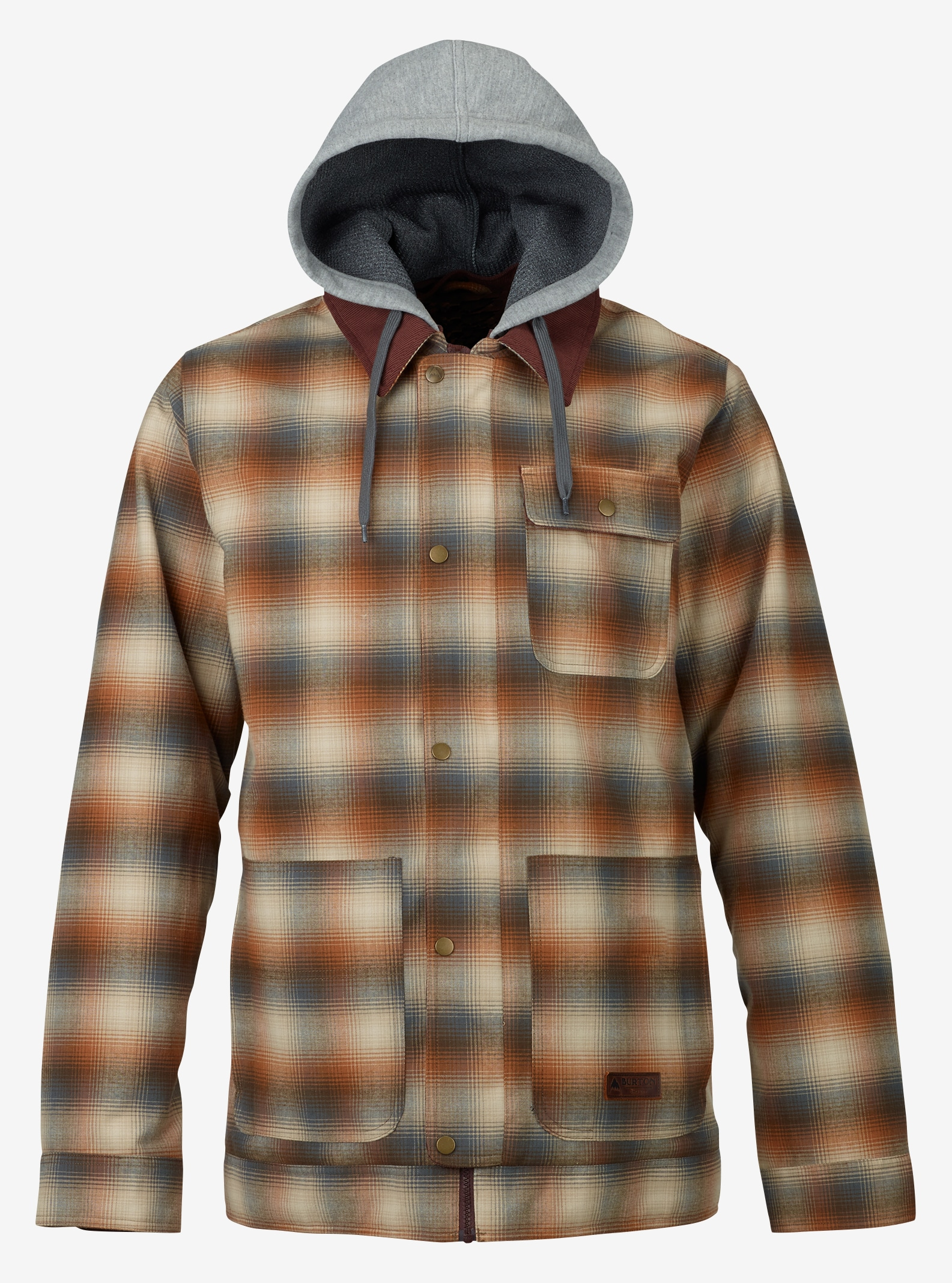 Men's Burton Dunmore Jacket shown in Shep Plaid