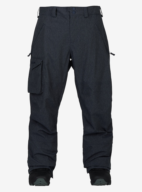BURTON snowboard 2018 Covert Insulated Pant Denim Mens Large NEW w/tags