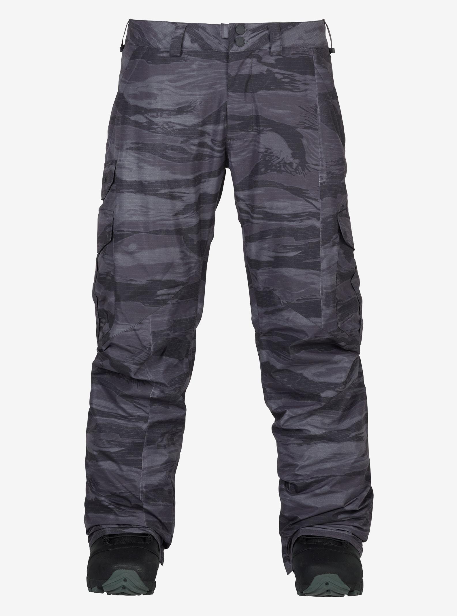Men's Burton Cargo Pant - Regular Fit shown in Faded Worn Tiger