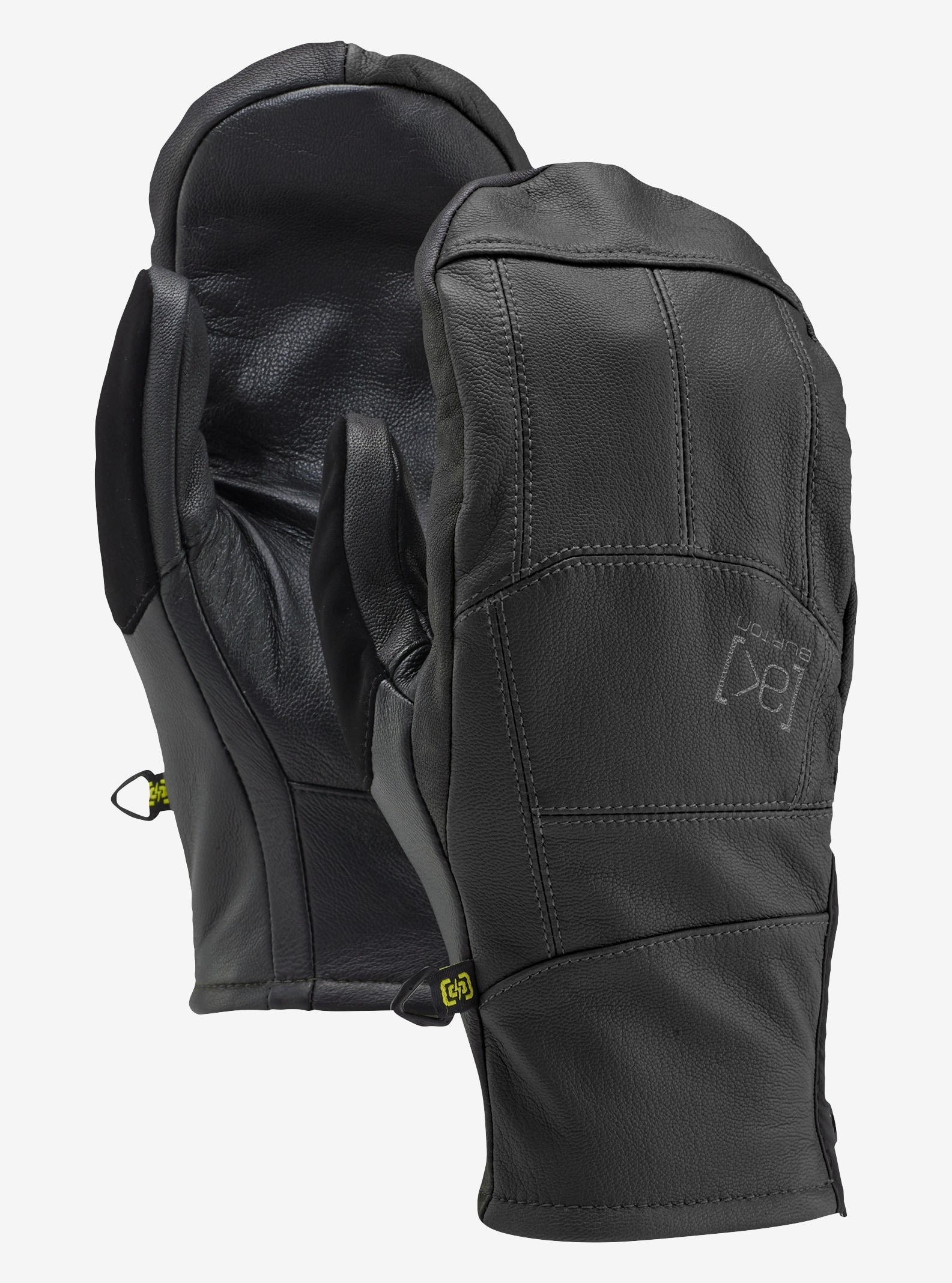 Burton [ak] Leather Tech Mitt shown in True Black