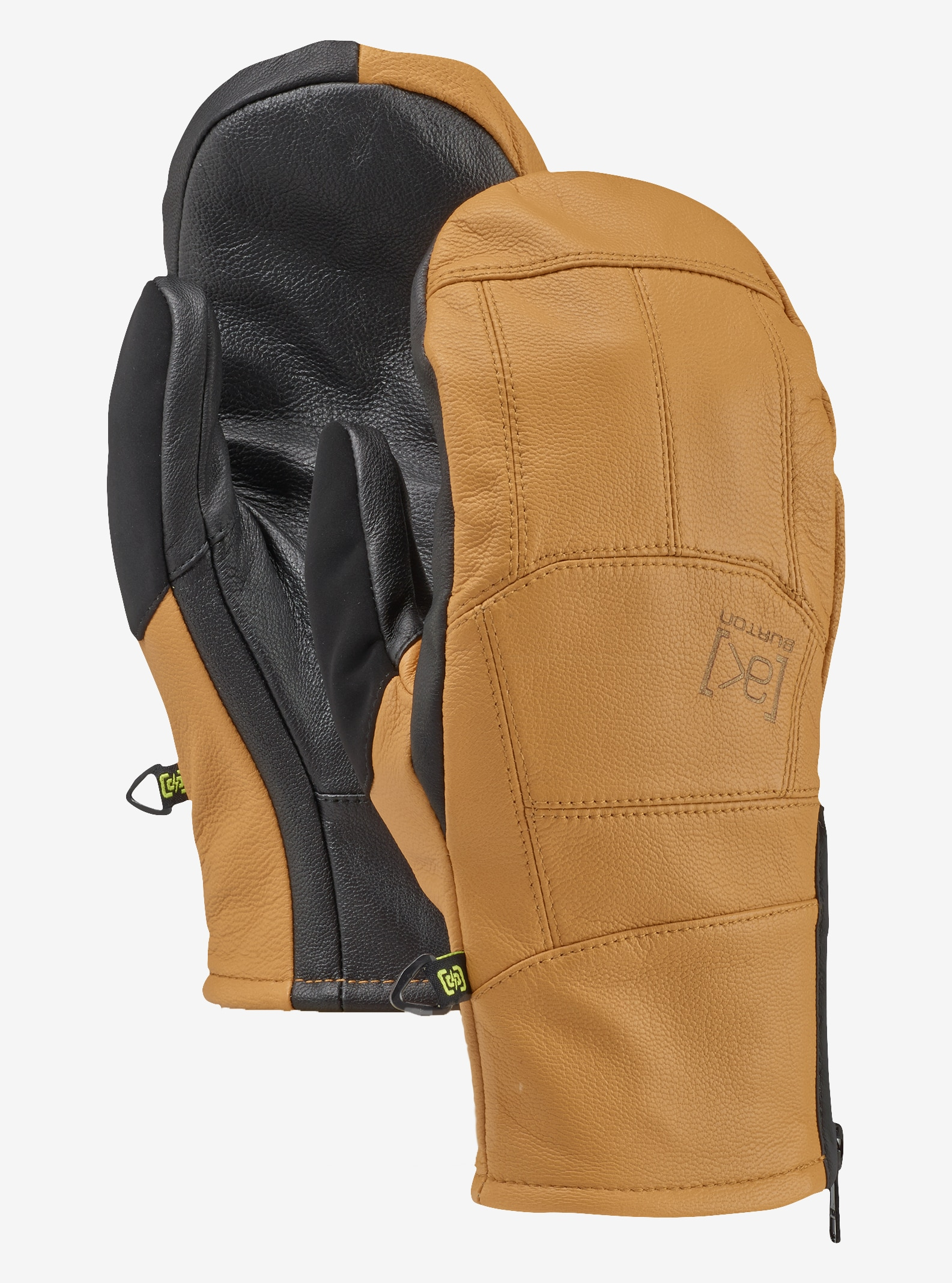 Burton [ak] Leather Tech Mitt shown in Raw Hide