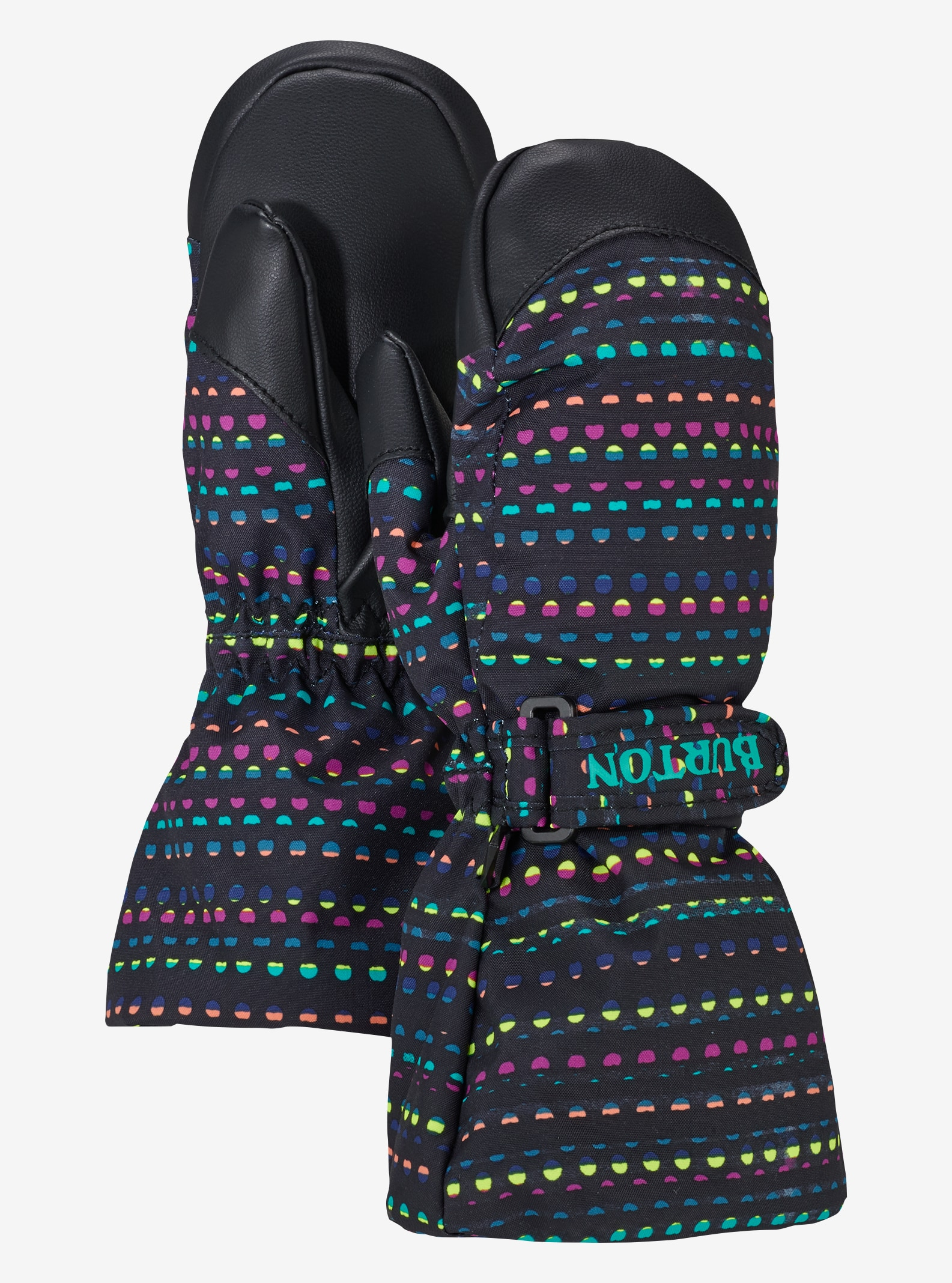 Kids' Burton Mini Heater Mitt shown in Candy Dots