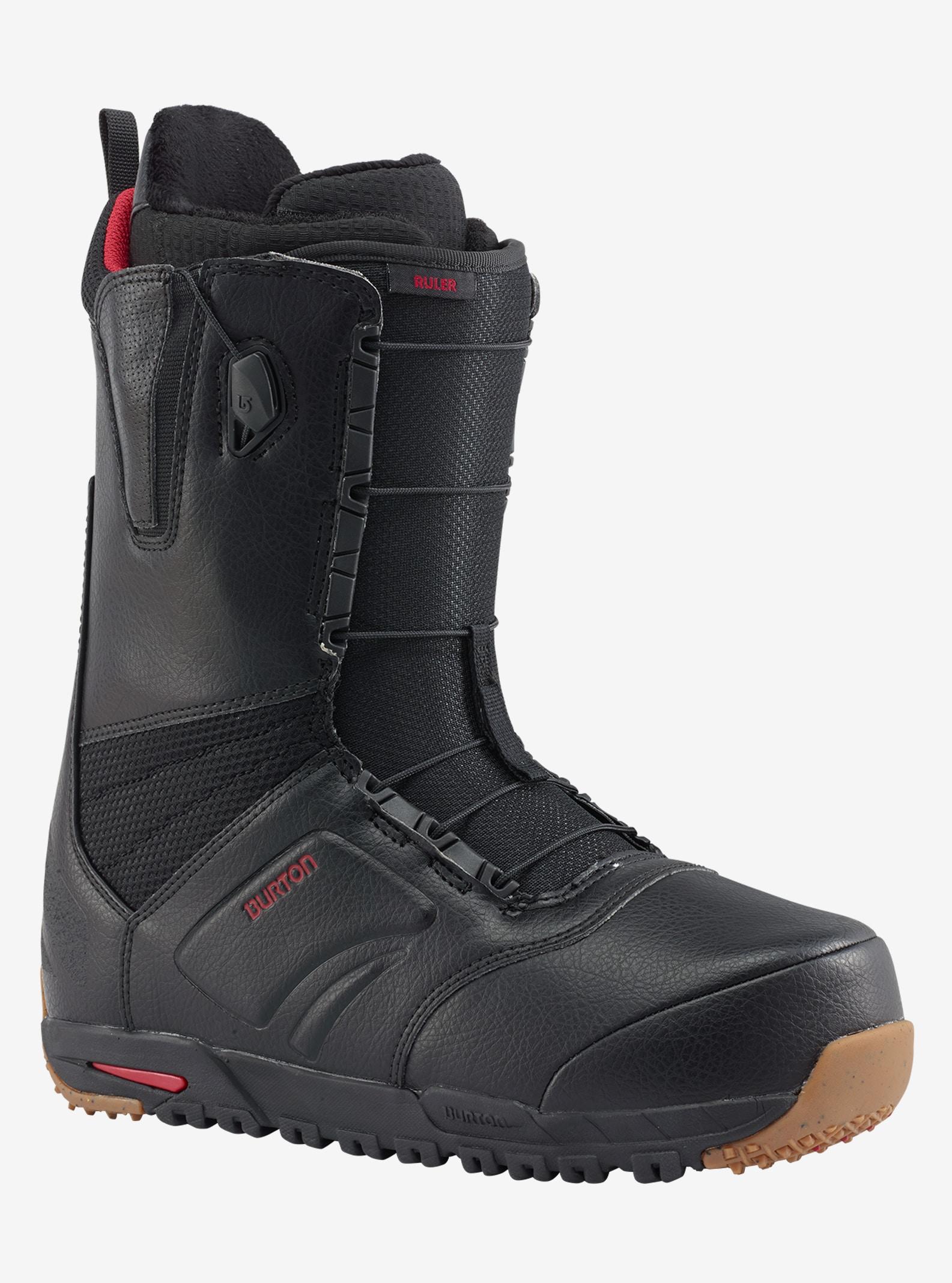Men's Burton Ruler Wide Snowboard Boot shown in Black