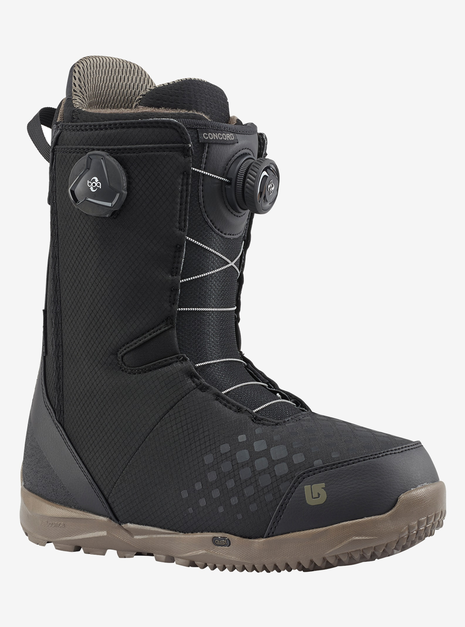 Men's Burton Concord Boa® Snowboard Boot shown in Black