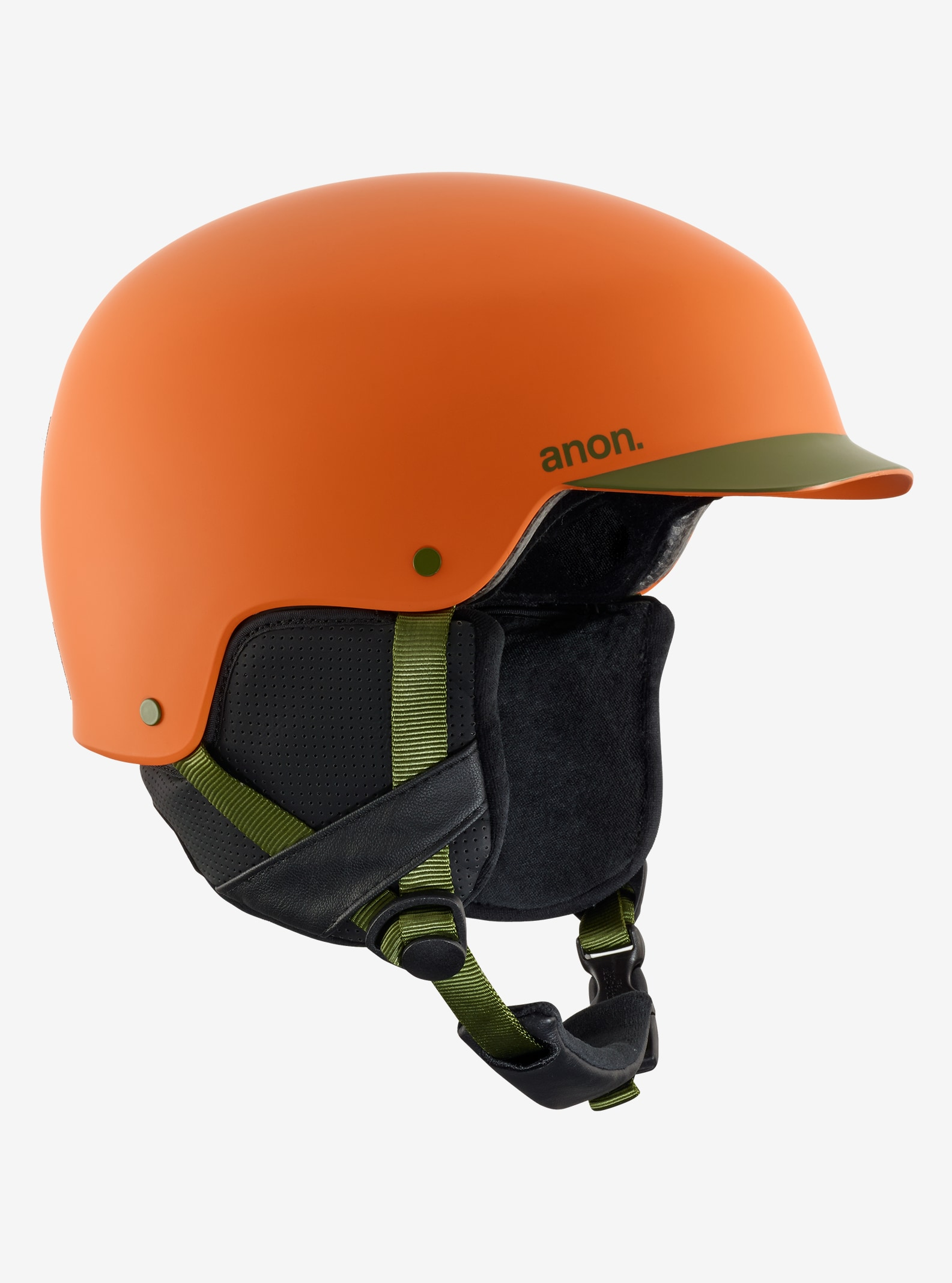 Men's Anon Blitz Helmet shown in Orange