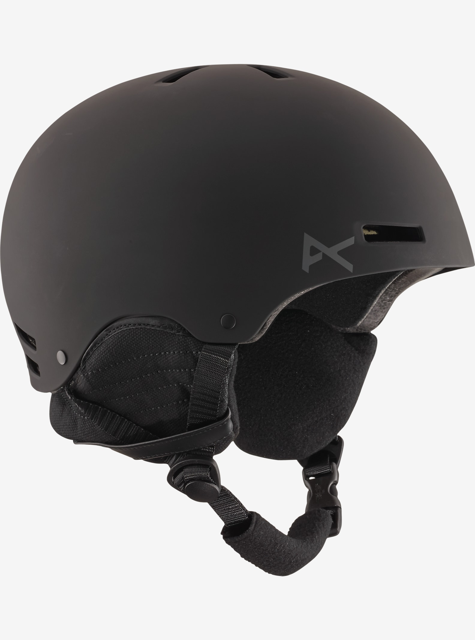 Men's Anon Raider Helmet shown in Black