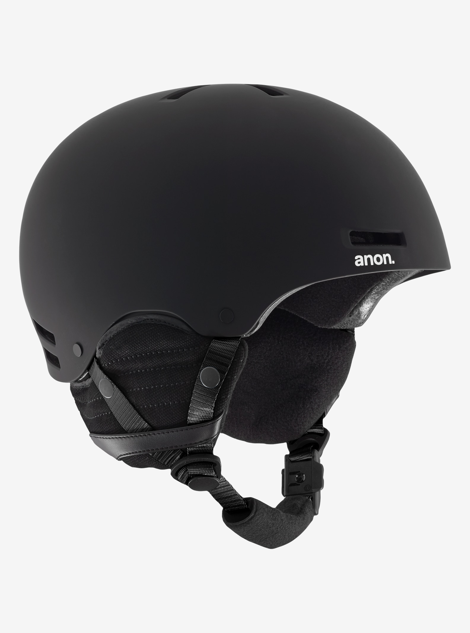Kids' Anon Rime Helmet shown in Black