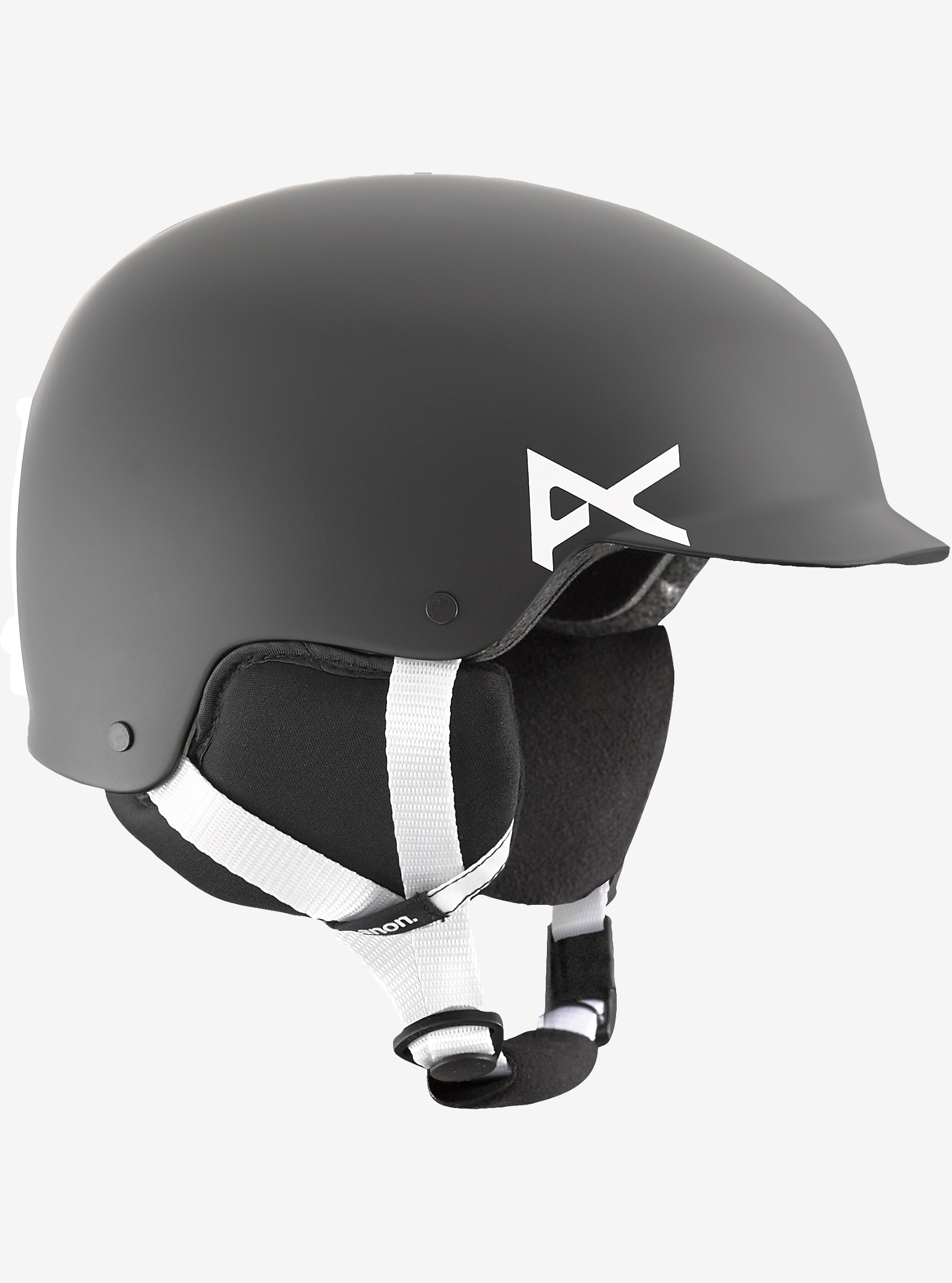 Kids' Anon Scout Helmet shown in Black