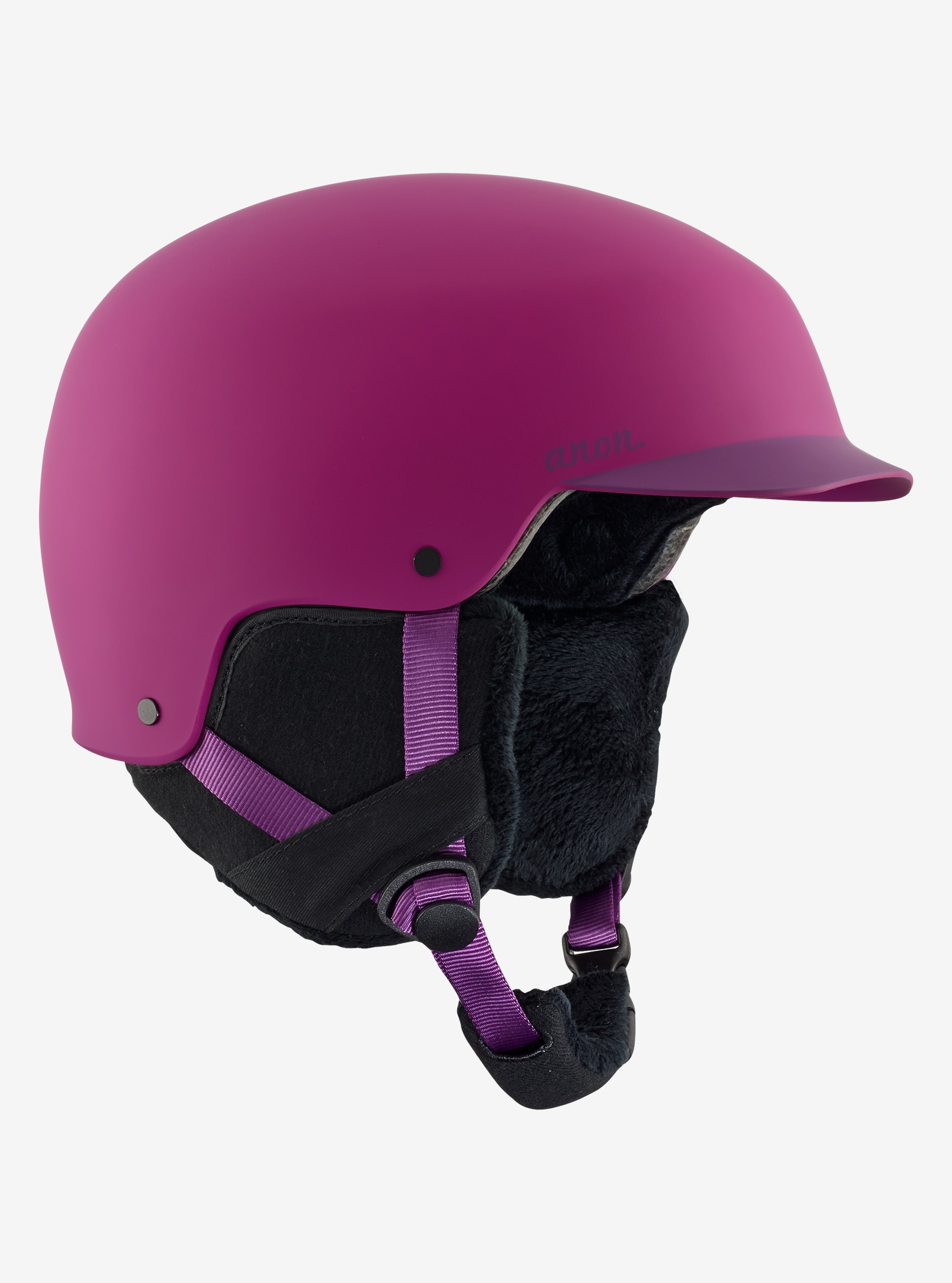 Women's Anon Aera Helmet shown in Purple