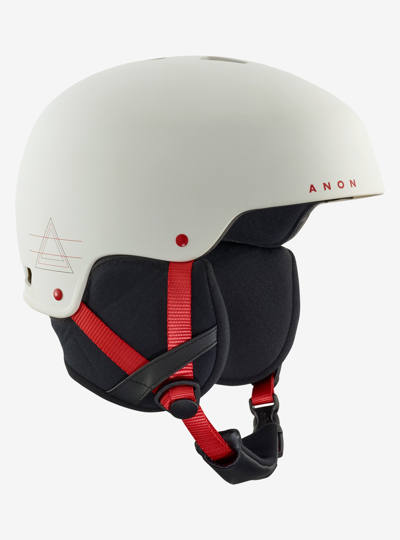 Men's Anon Striker Helmet shown in White