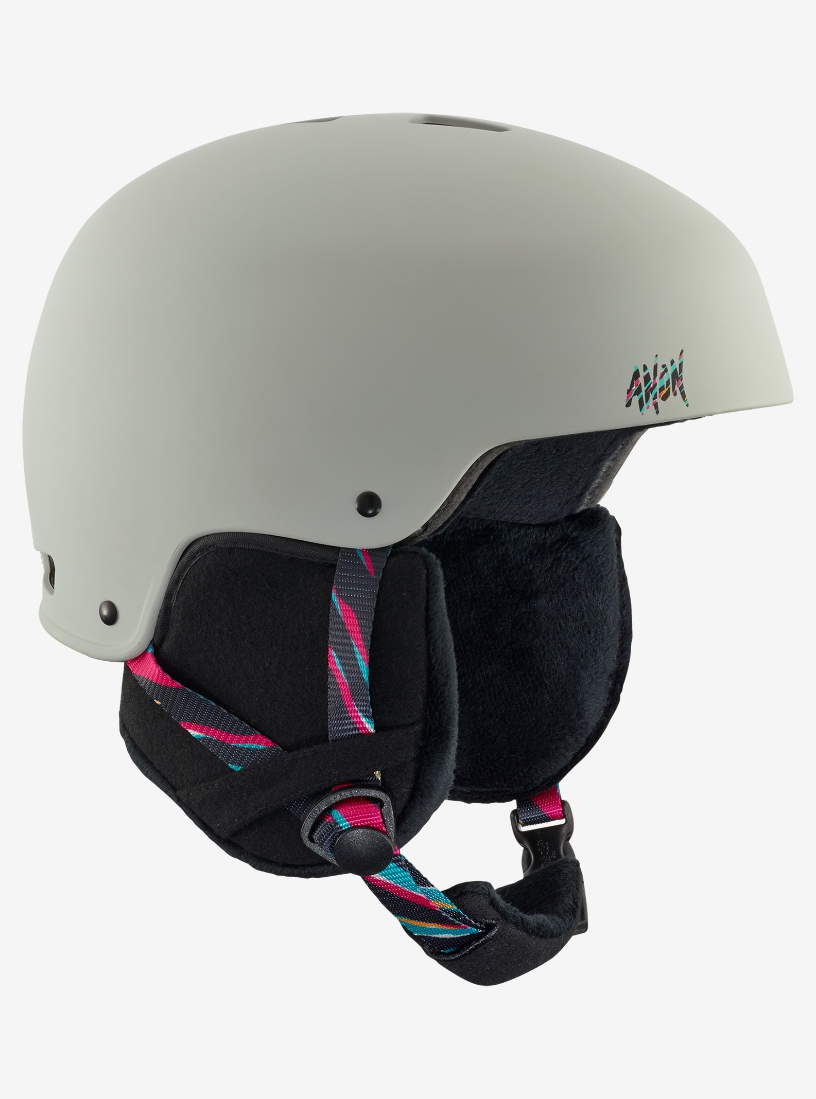 Women's Anon Lynx Helmet shown in Disco Tiger Gray