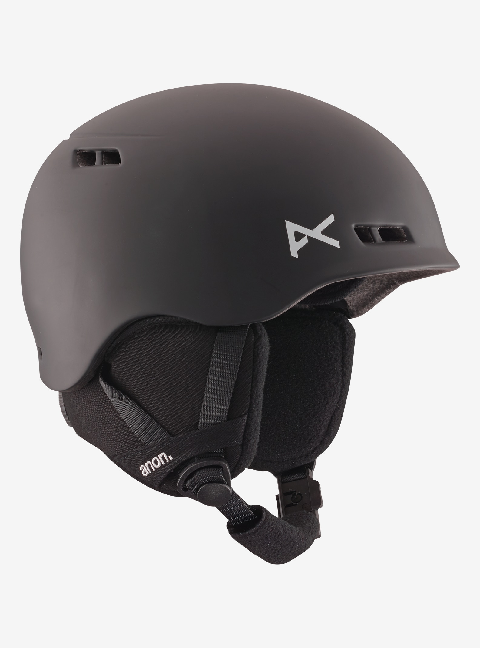 Kids' Anon Burner Helmet shown in Black