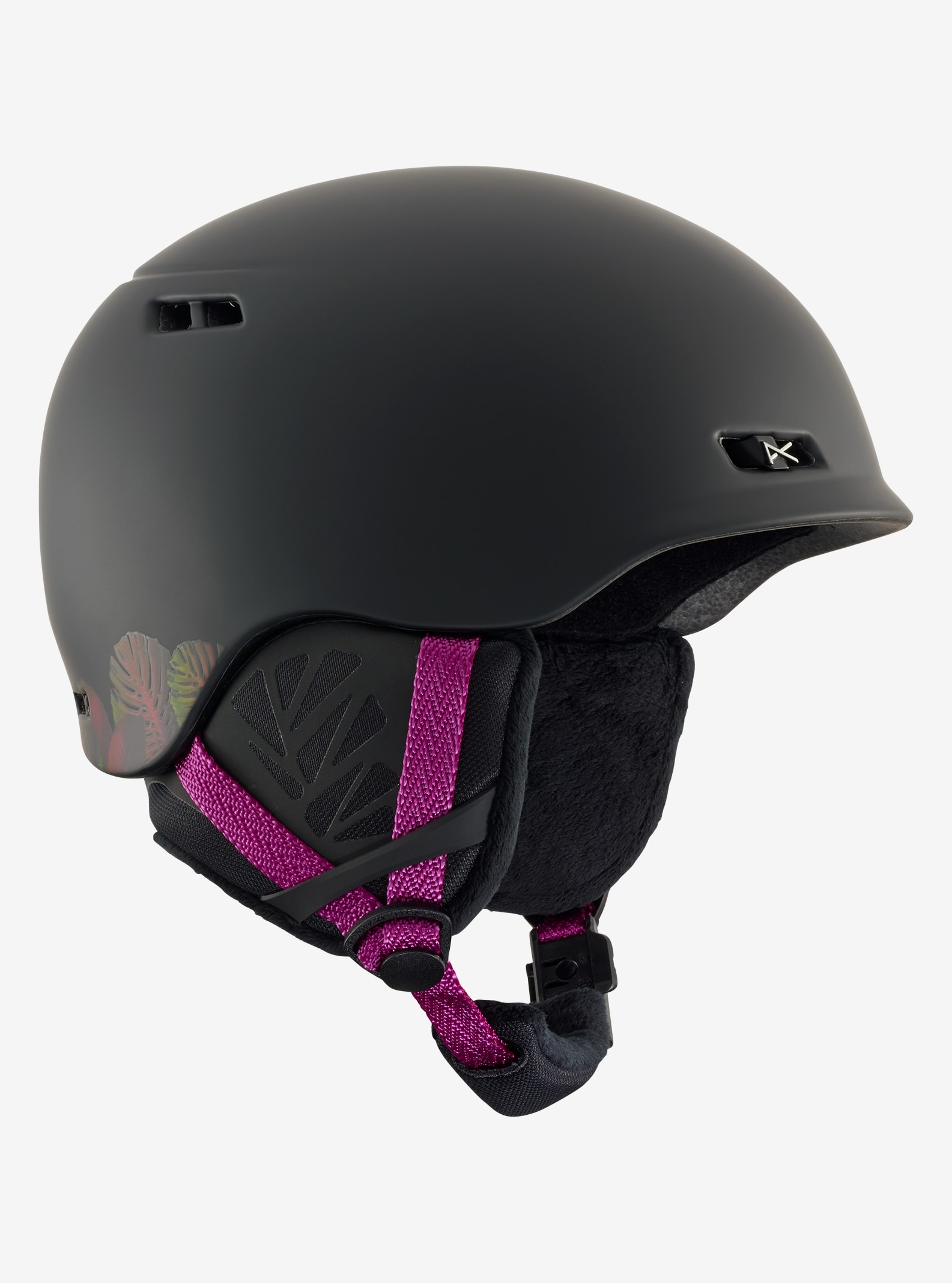 Women's Anon Griffon Helmet shown in Black