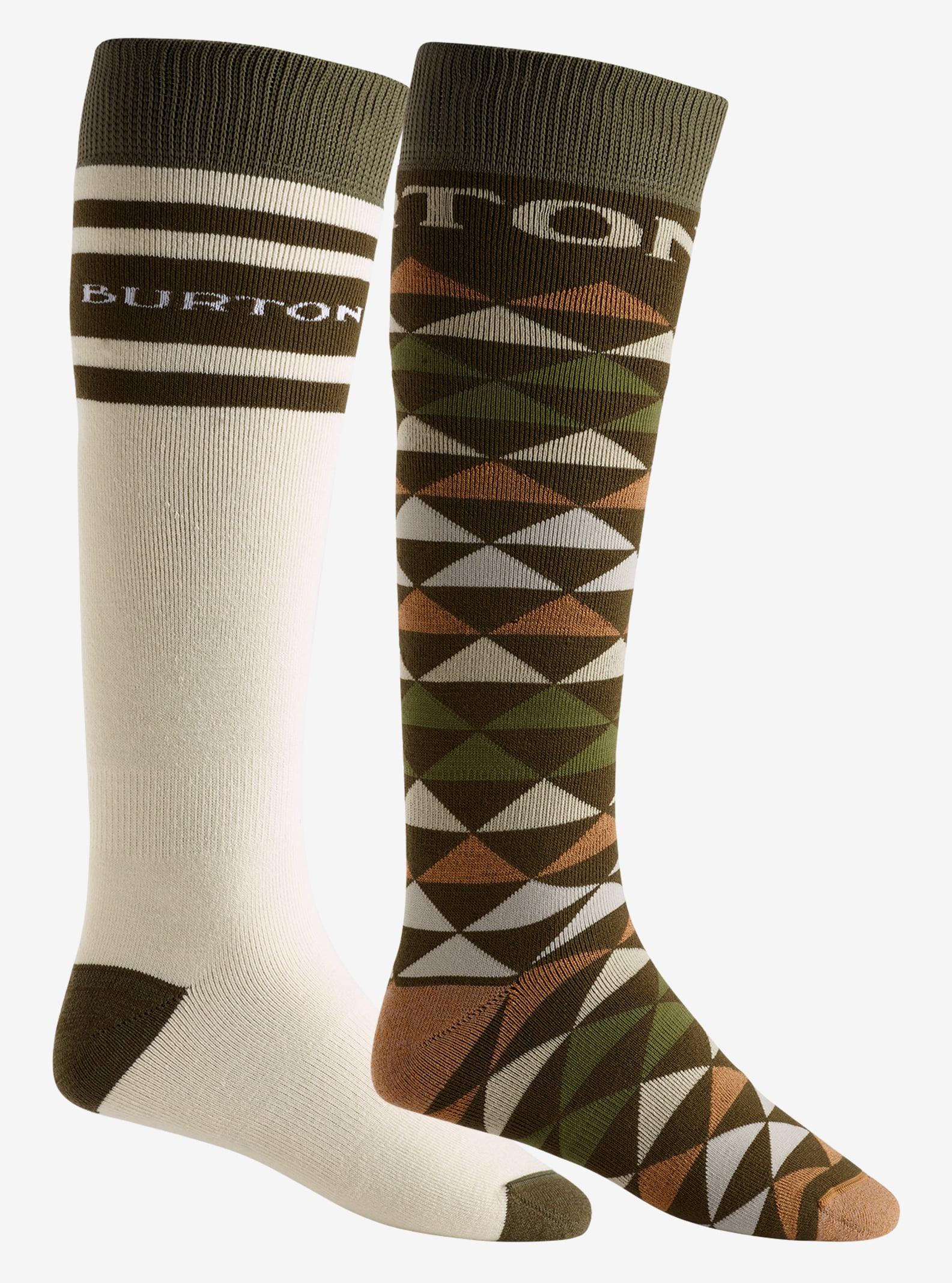 Men's Burton Weekend Sock 2 Pack shown in Forest Night